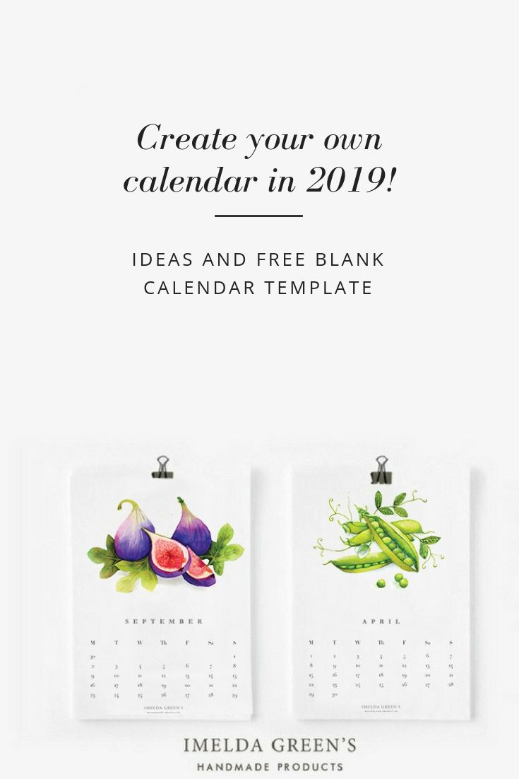 Create Your Own Calendar In 2019!   Create Your Own Calendar For Create Your Own Calendar Printable