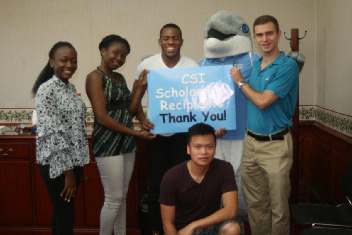 "Cuny Staten Island On Twitter: ""scholarship Recipients Fatu Inside College Of Staten Island Starts In Fall"