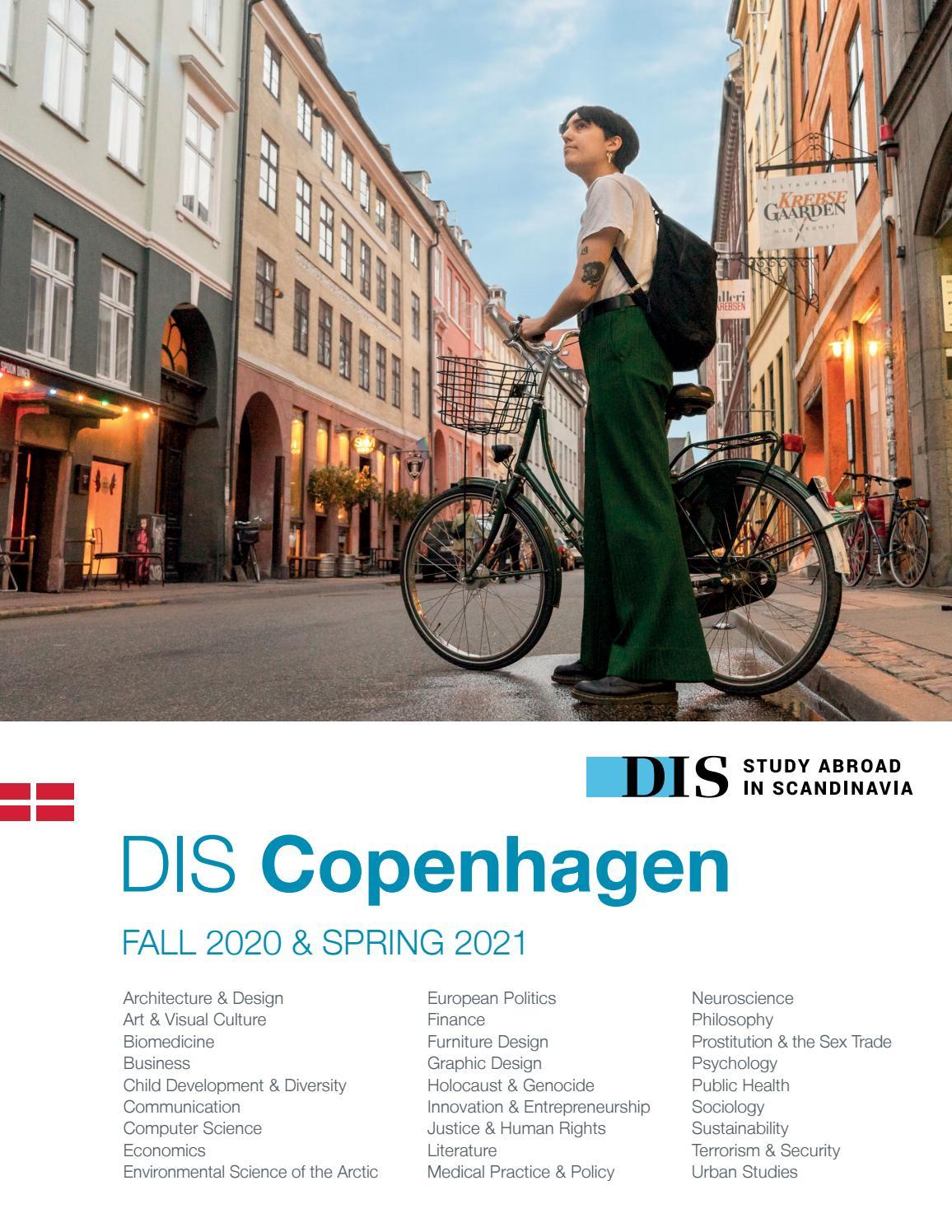 Dis Copenhagen Semester Catalog, Fall 2020 & Spring 2021 Regarding College Of Staten Island Spring 2021 Calendar