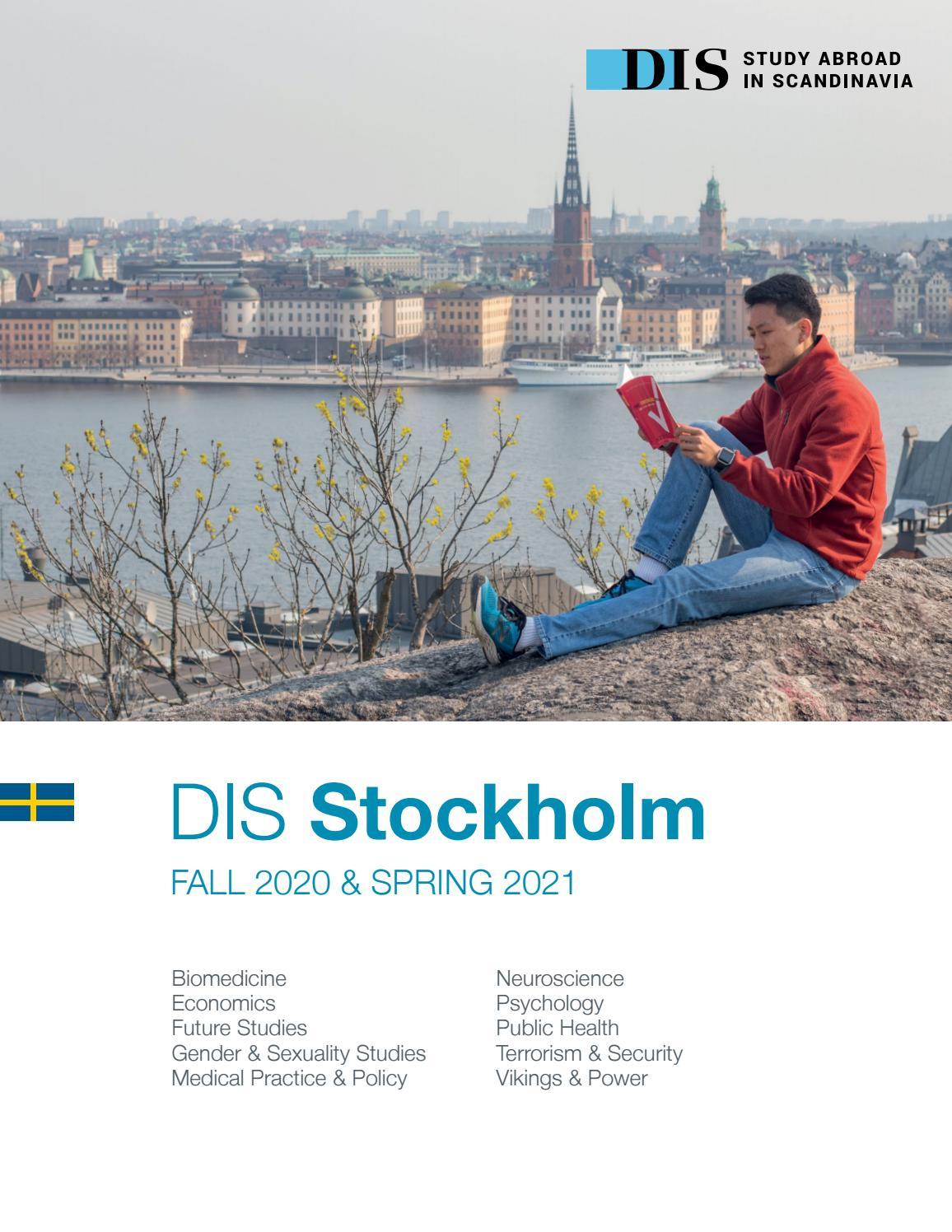 Dis Stockholm Semester Catalog, Fall 2020 & Spring 2021 In College Of Staten Island Spring 2021 Calendar