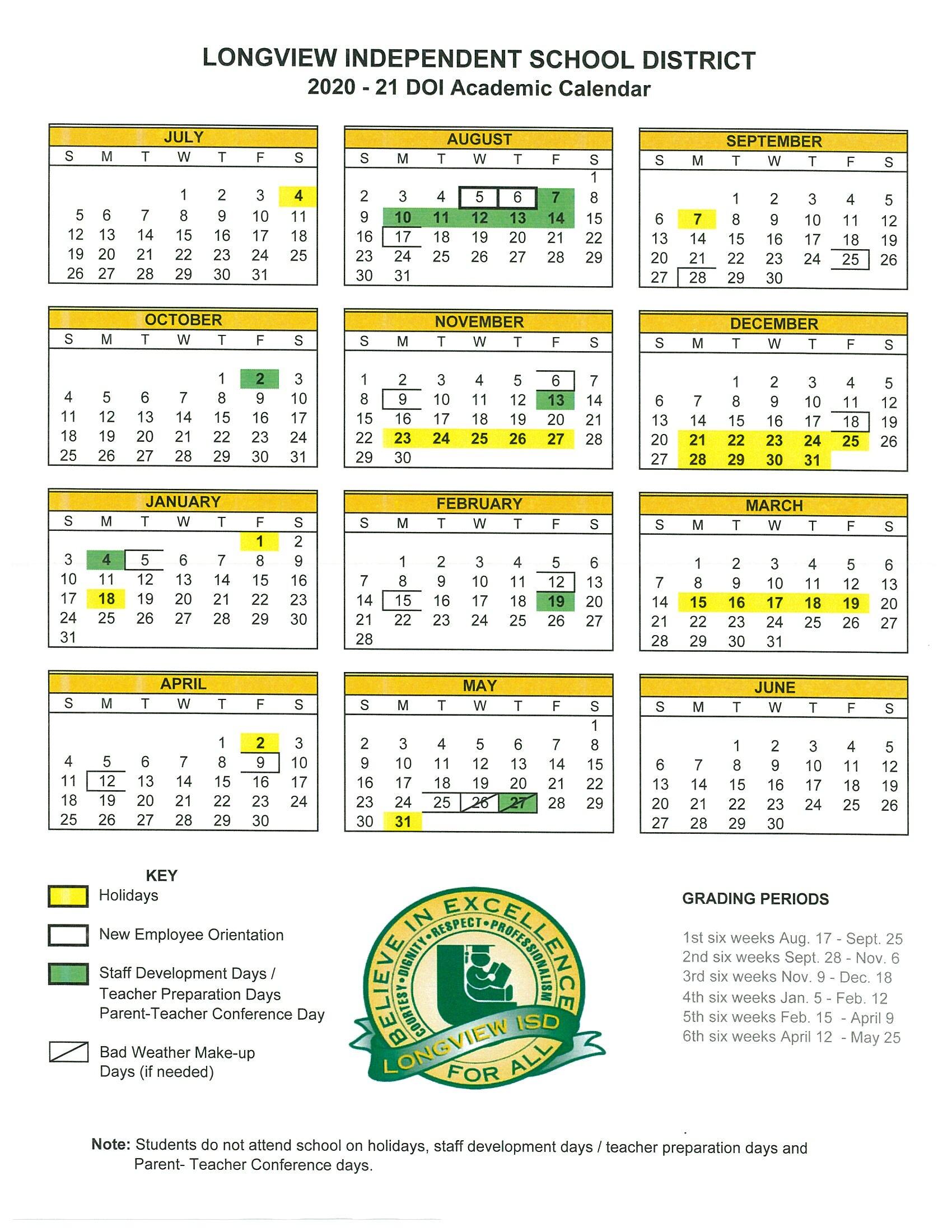 District Calendar Inside Iowa State University Spring Semester Printable Calendar