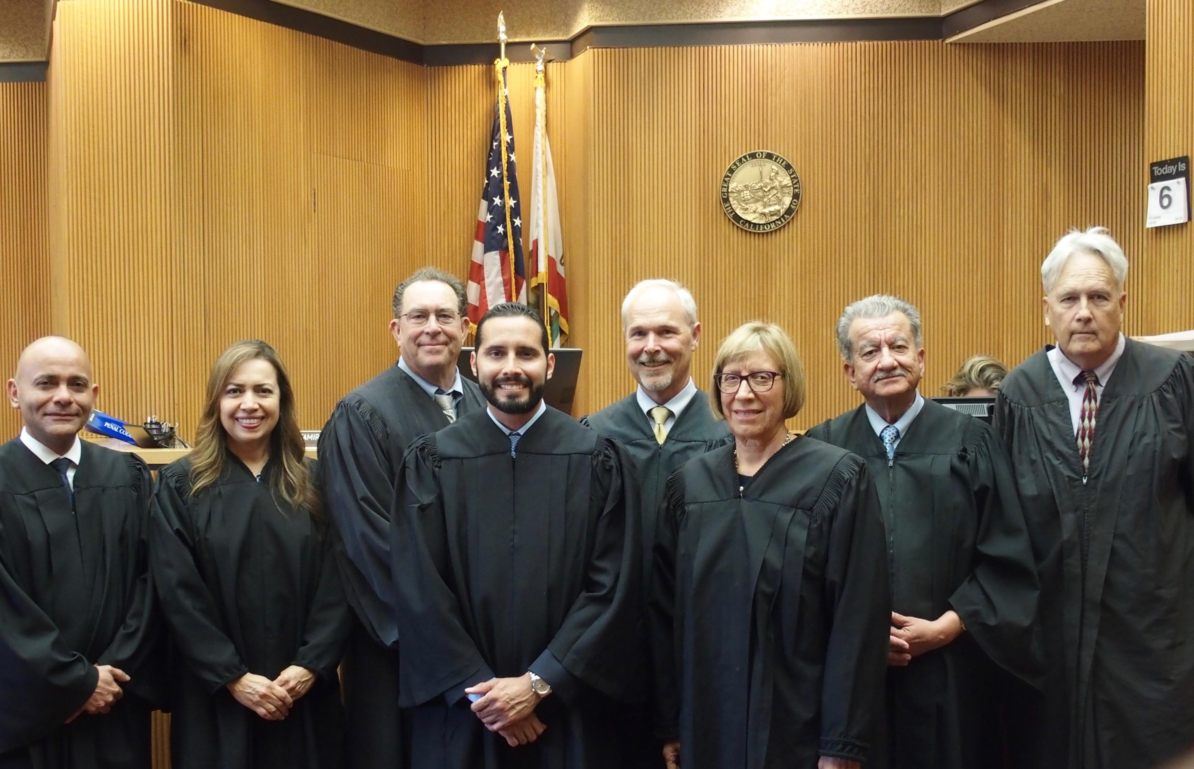 Domenzain Sworn In As Superior Court Judge | Local News Inside Impeiral County Superior Court Calendar