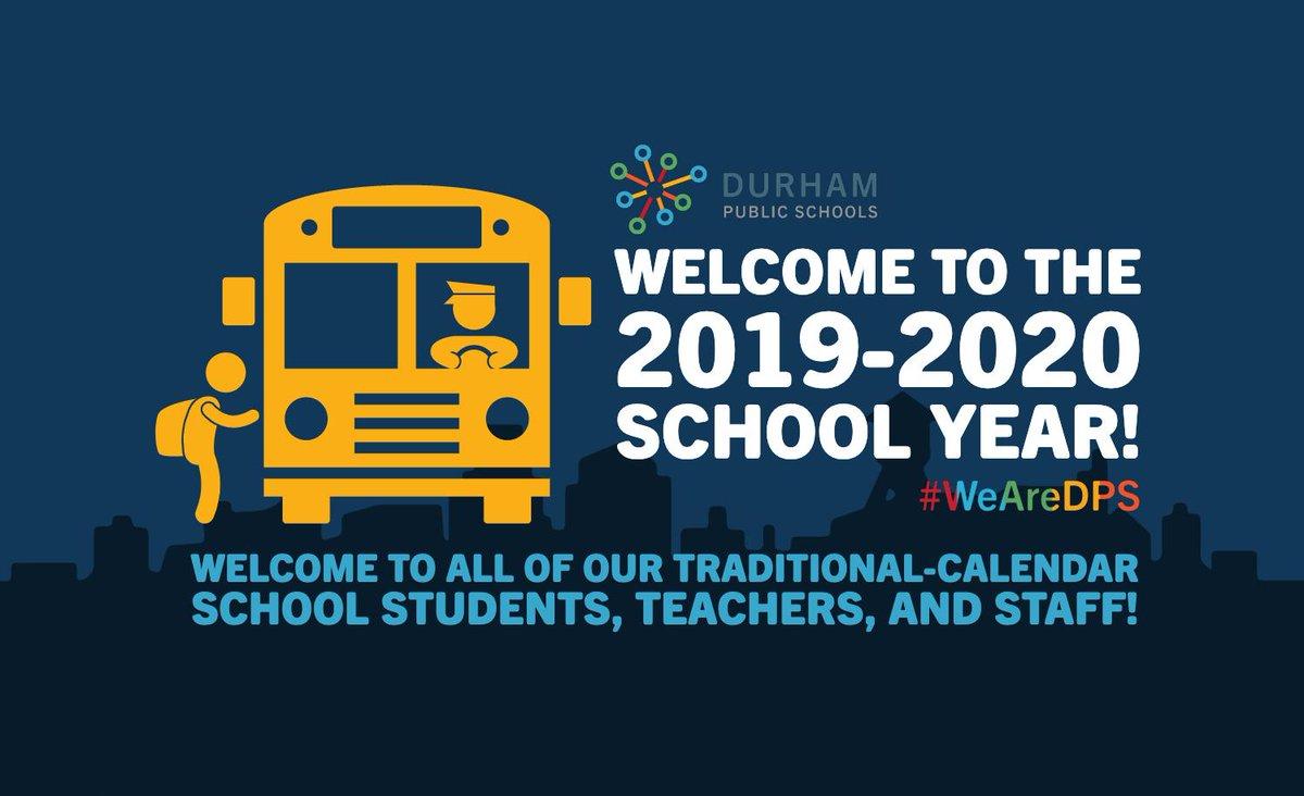 "Durham Public Schools On Twitter: ""dps Would Like To Welcome Regarding Durham Public Schools Traditional Calendar"