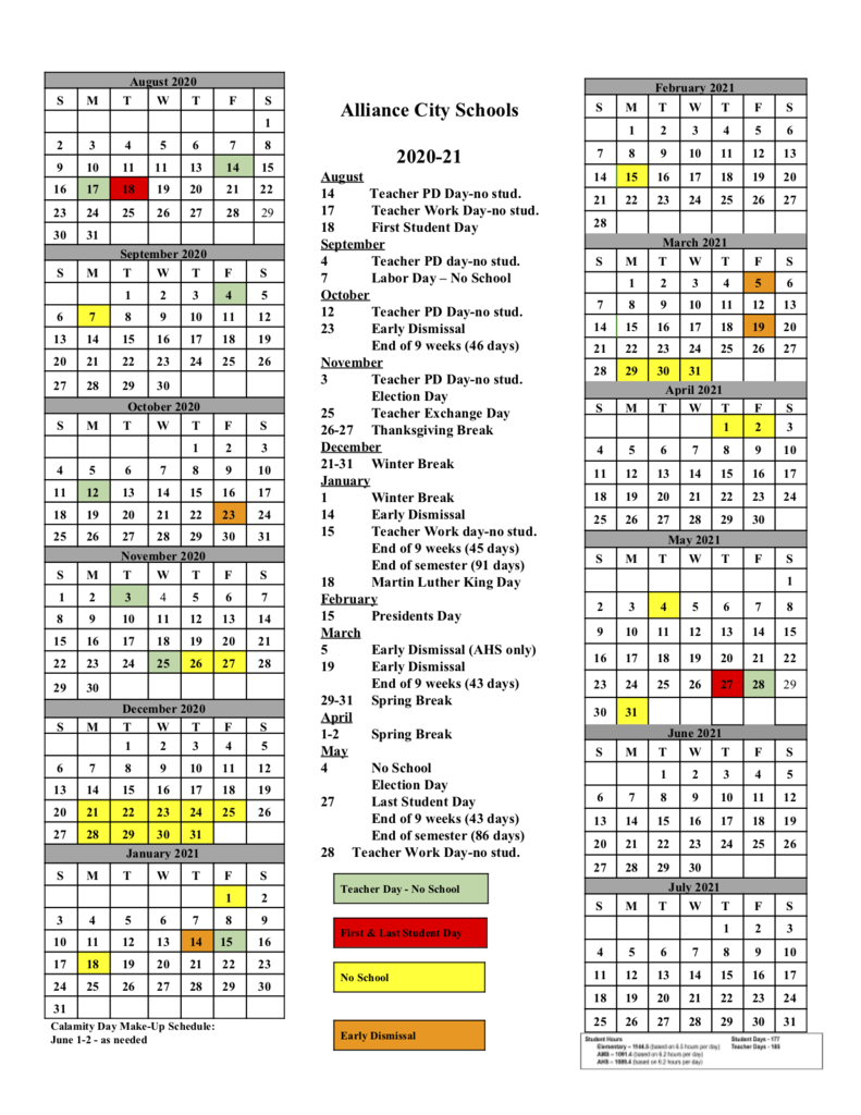 Early Learning School Within 2021 Calendar For Bowing Green City Schools