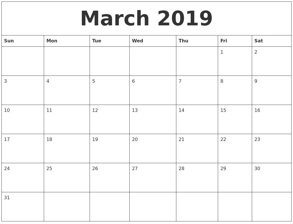 Editable March 2020 Calendar Template In Pdf Word Excel With Regarding Editable 2021 Elf Calendar