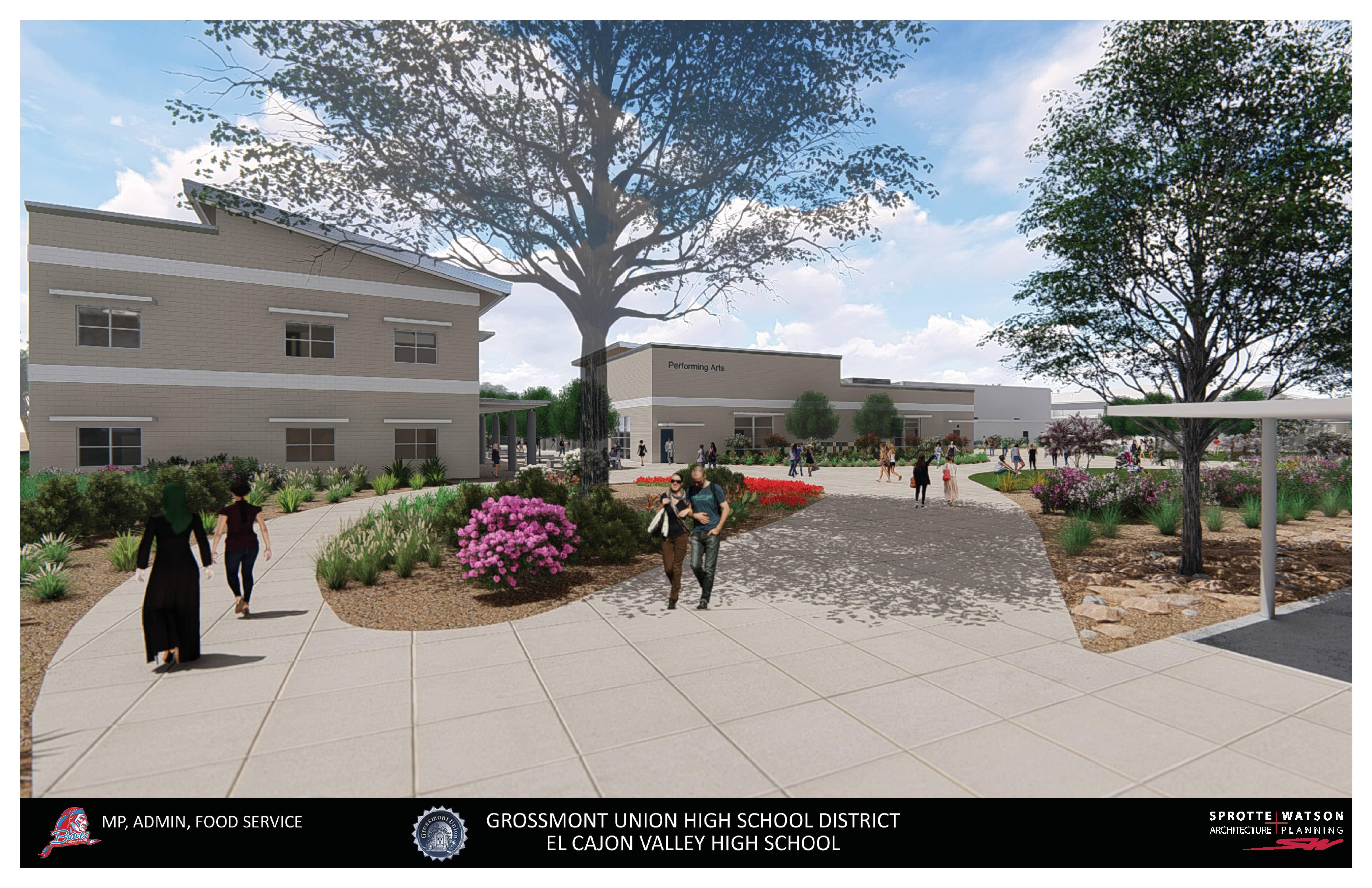 El Cajon Valley High School – Construction Update Inside El Cajon School District Holiday Schedule