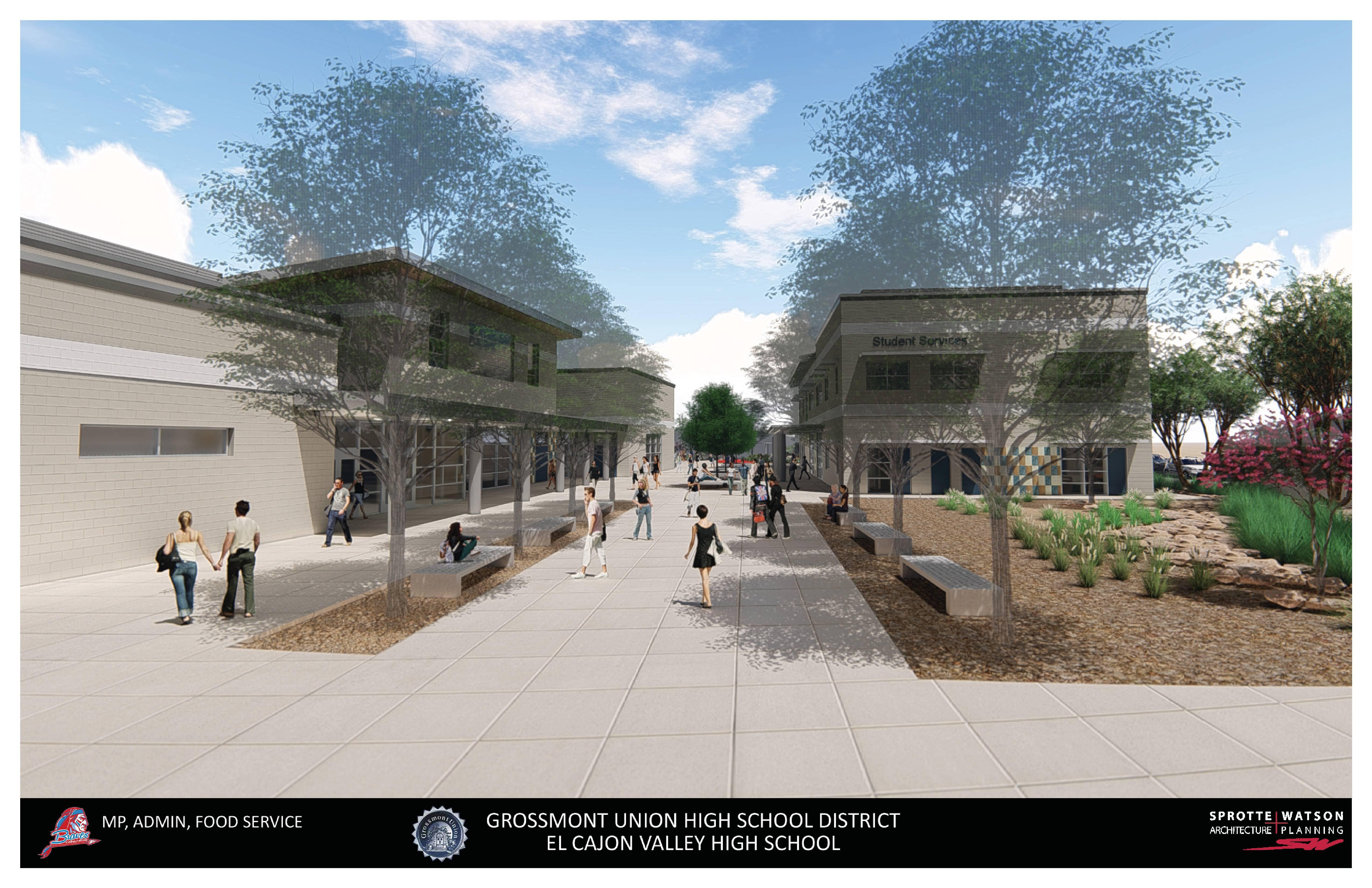 El Cajon Valley High School – Construction Update Intended For El Cajon School District Holiday Schedule