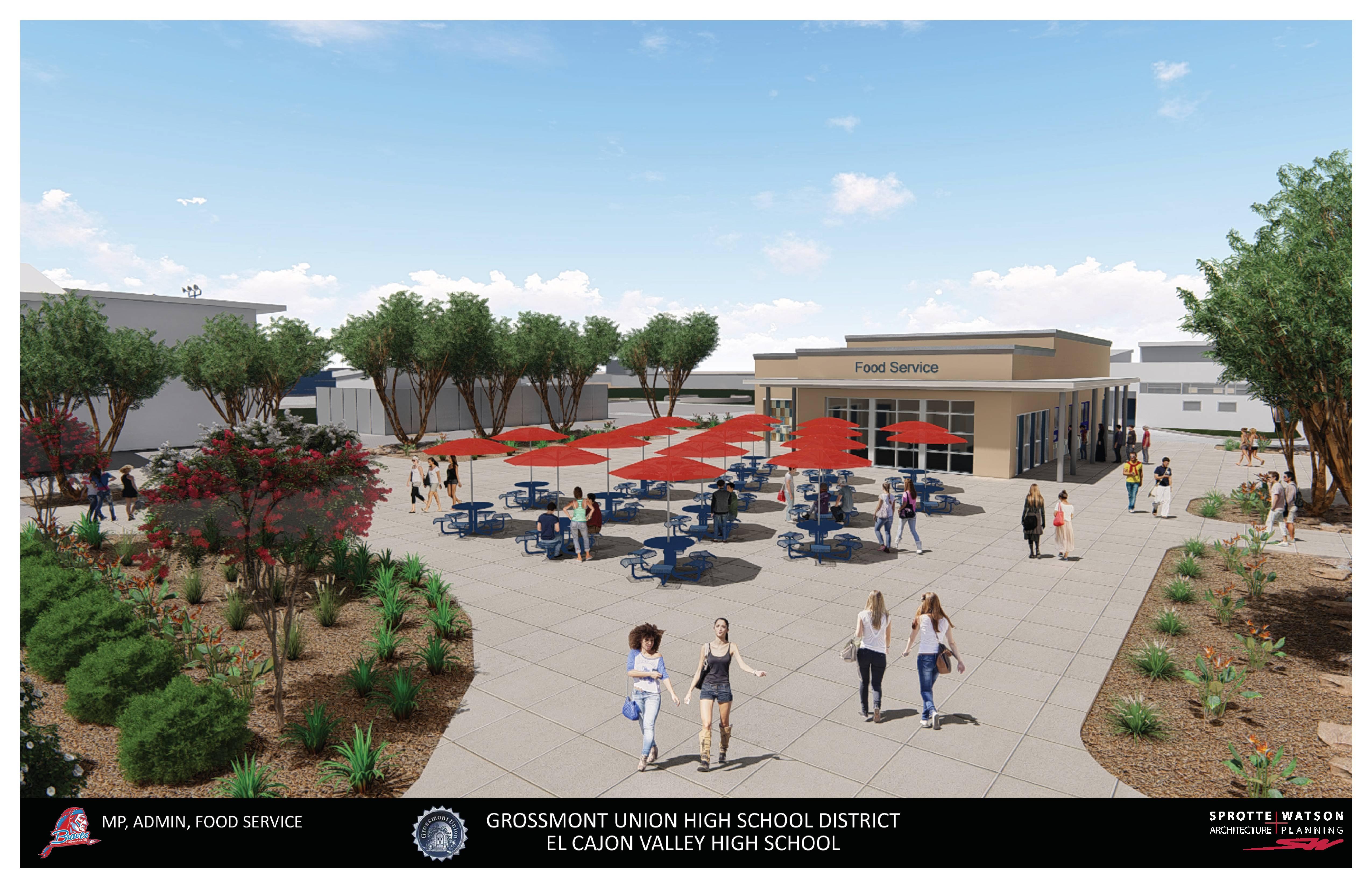 El Cajon Valley High School - Construction Update Regarding El Cajon School District Holiday Schedule