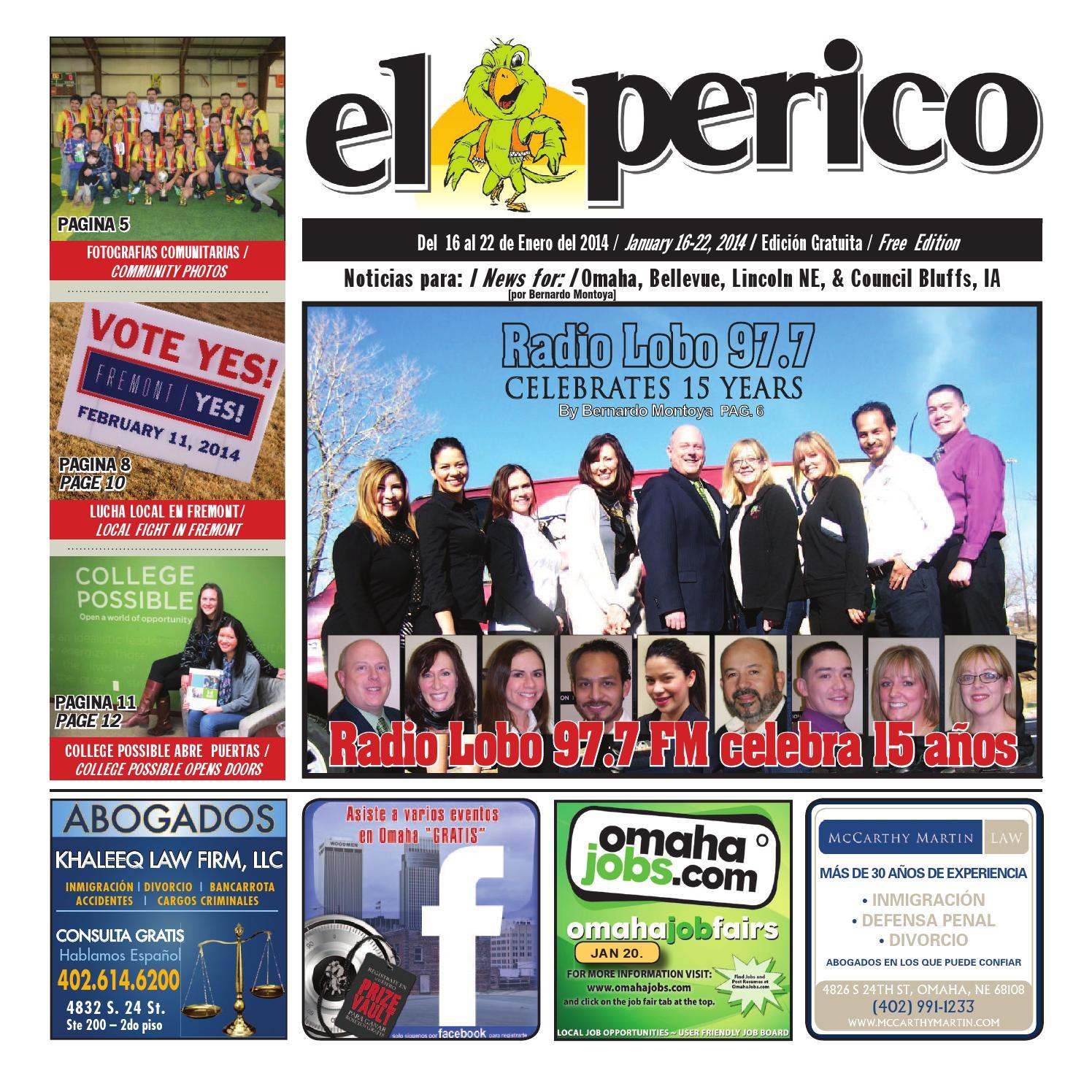 El Perico Jan. 16, 2014Pioneer Publishing - Issuu pertaining to Need 2021-2021 Printable Calendar For Papillion Lavista Schools