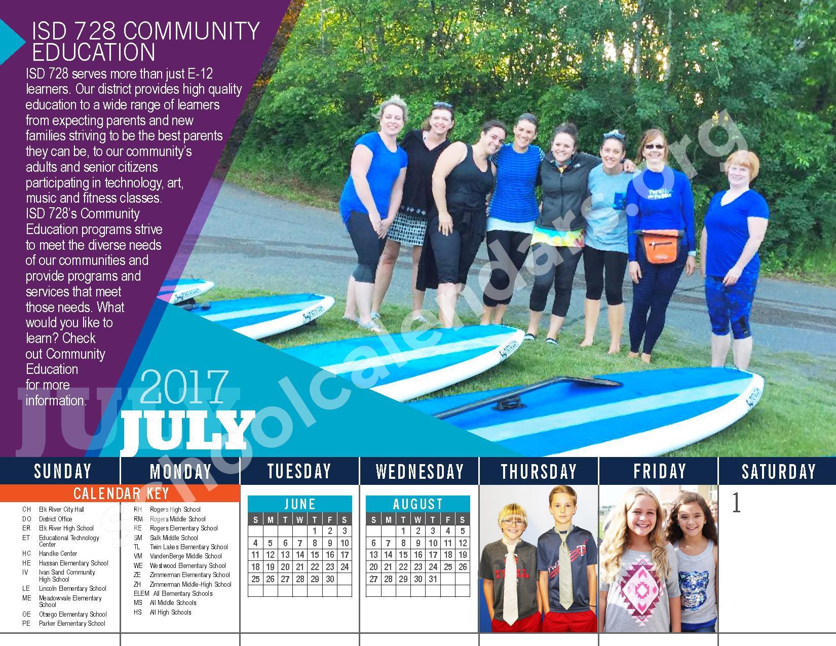 Elk River Public School District Calendars – Elk River, Mn Intended For Elk River School District Calendar