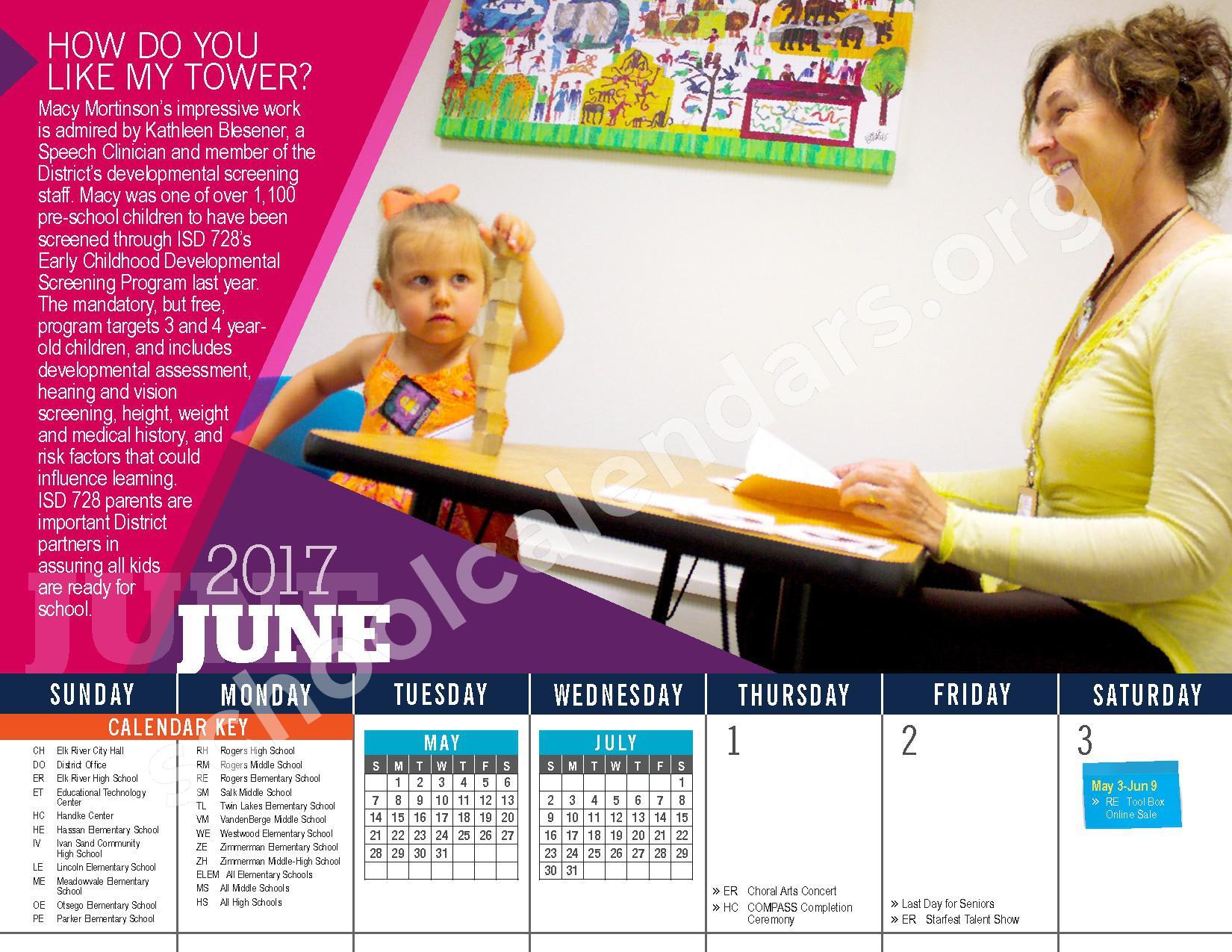 Elk River Public School District Calendars – Elk River, Mn Throughout Elk River School District Calendar