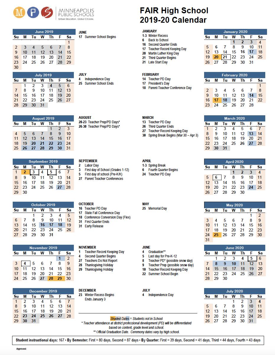 Equity, Innovation, Excellence And Creativity Inside University Of Minnesota2020 2021 Academic Calendar