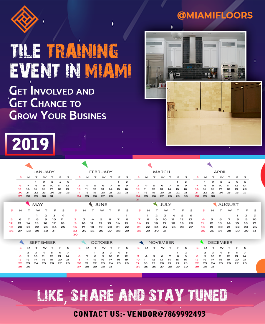 Event Calendar 2019 For Tile Industry In Miami | Installing Pertaining To Naples Florida Activities Calendar