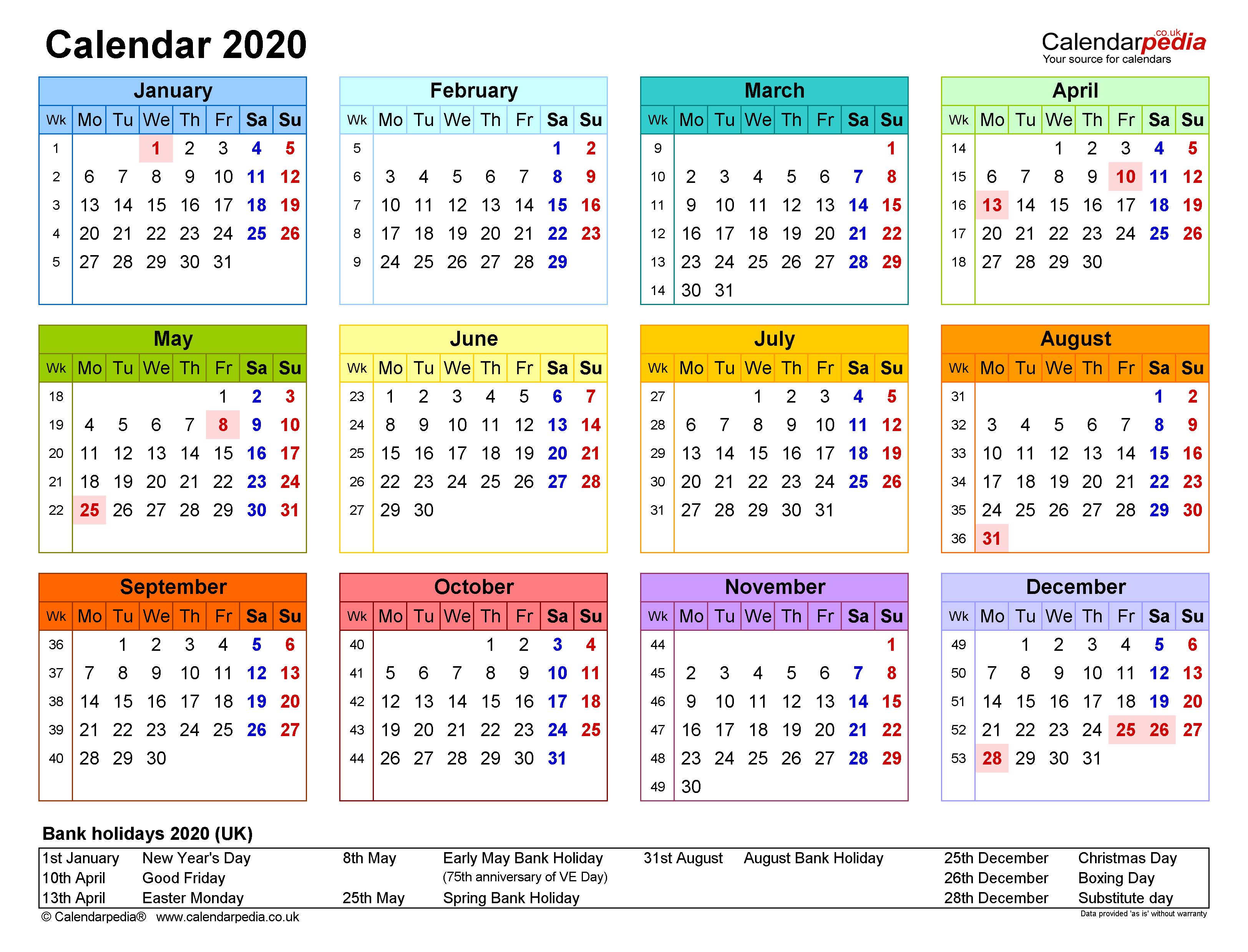 Excel Calendar 2020 (Uk) | 17 Printable Templates (Xlsx, Free) With Editable 2021 Elf Calendar