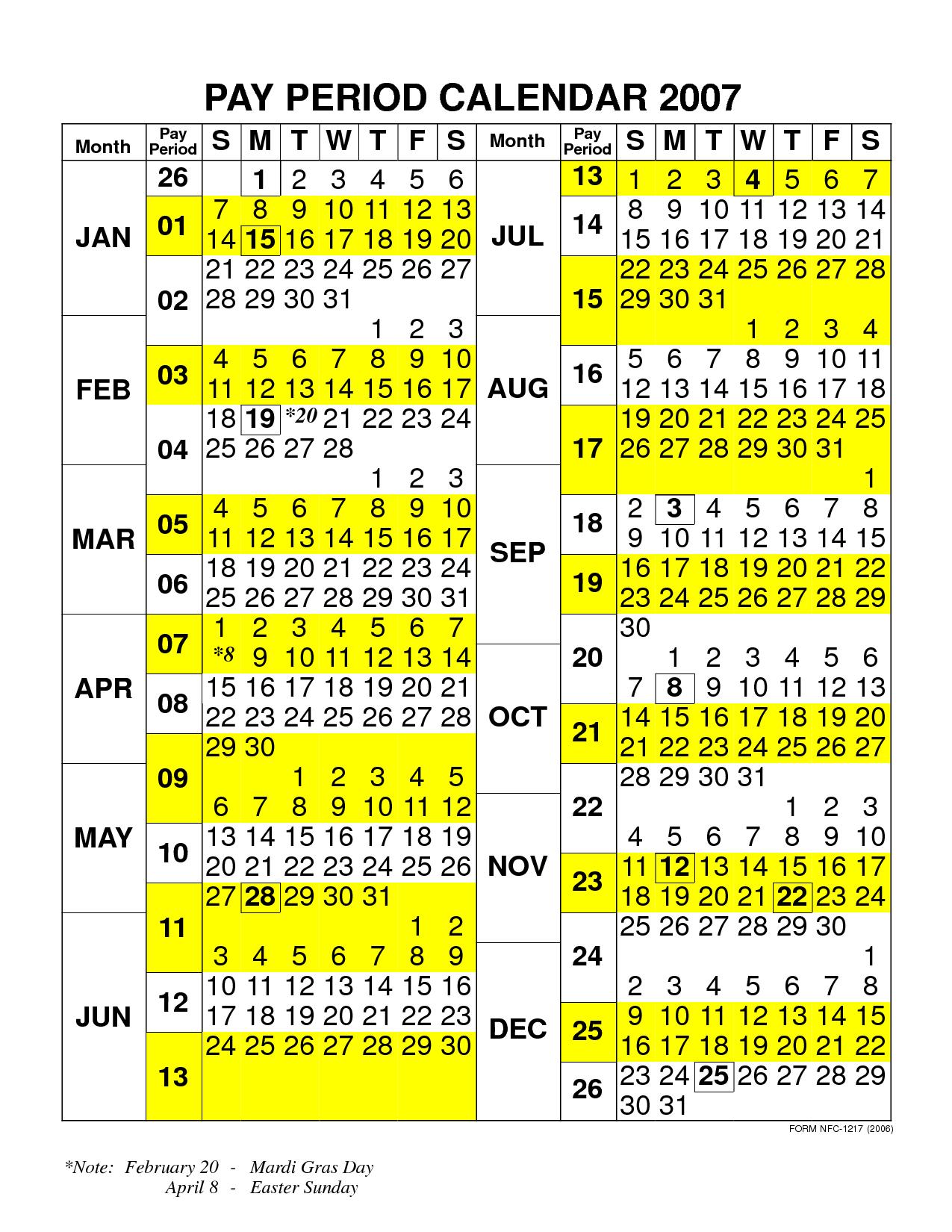 Federal Pay Period Chart - Caska In 2015 Pay Period Calendar Federal