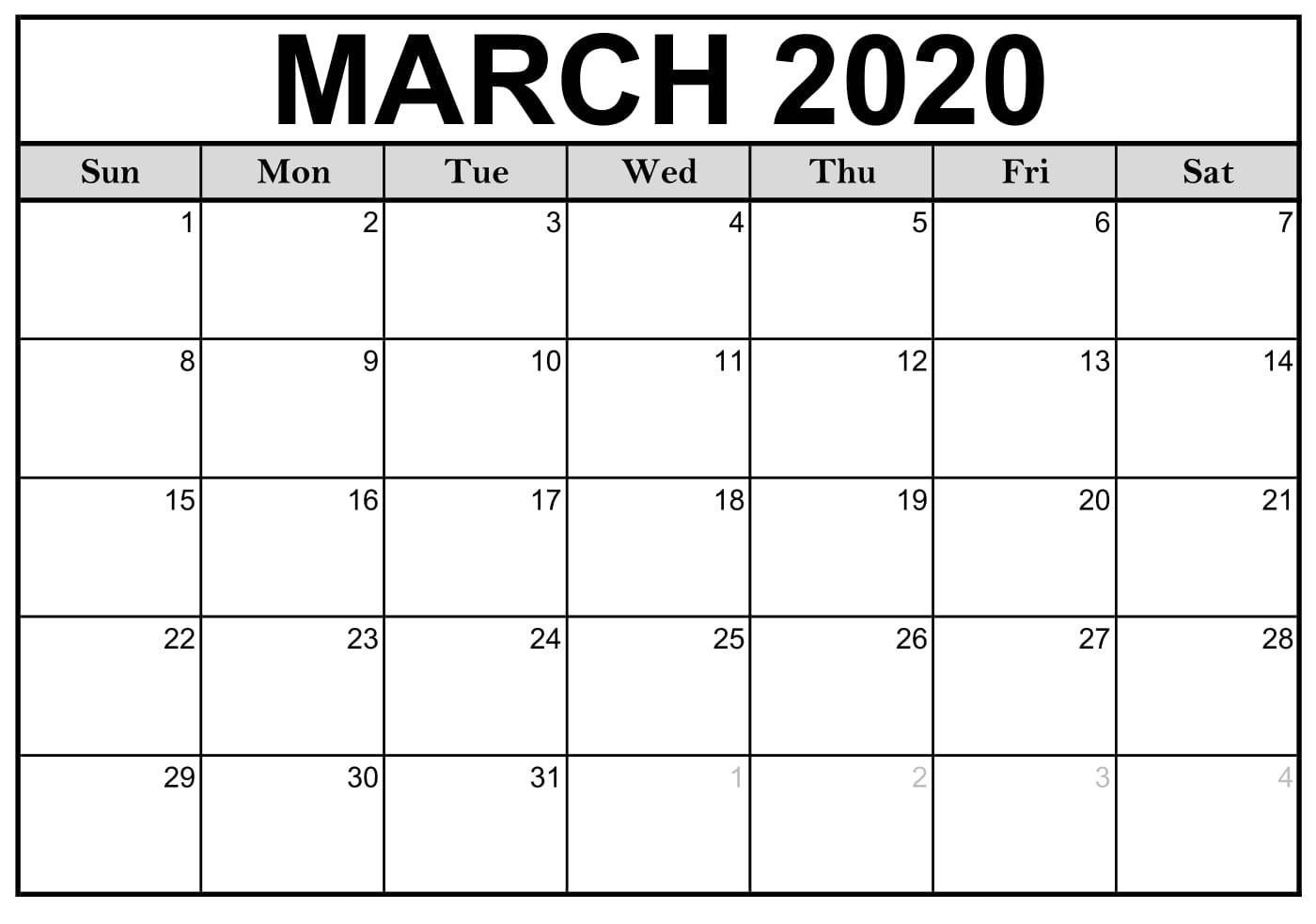 Fillable March 2020 Calendar Template Word, Pdf, Excel With Free June 2020 Activities Calendar Template Assisted Living Editable