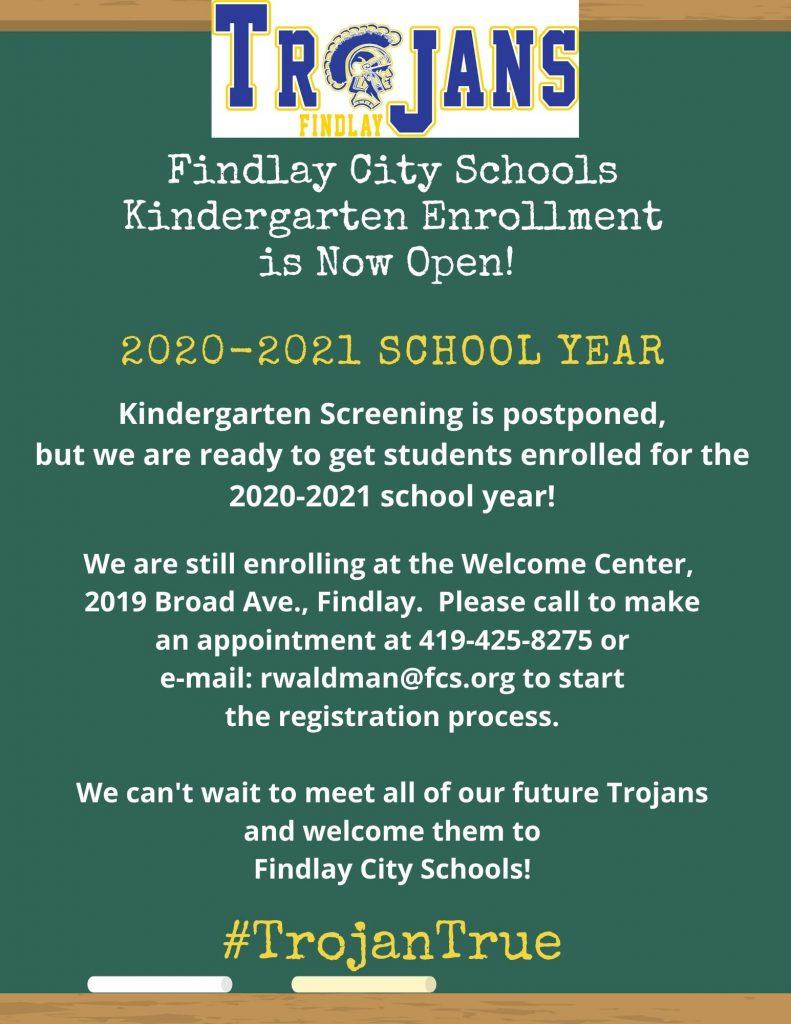 Findlay City Schools – #trojantrue With 2021 Calendar For Bowing Green City Schools
