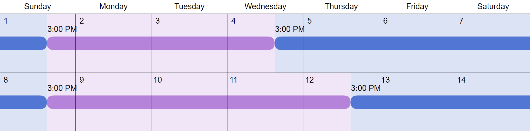 Florida Time Sharing Schedule Guidelines (Fl Custody) Inside Wake County Family Court Calander