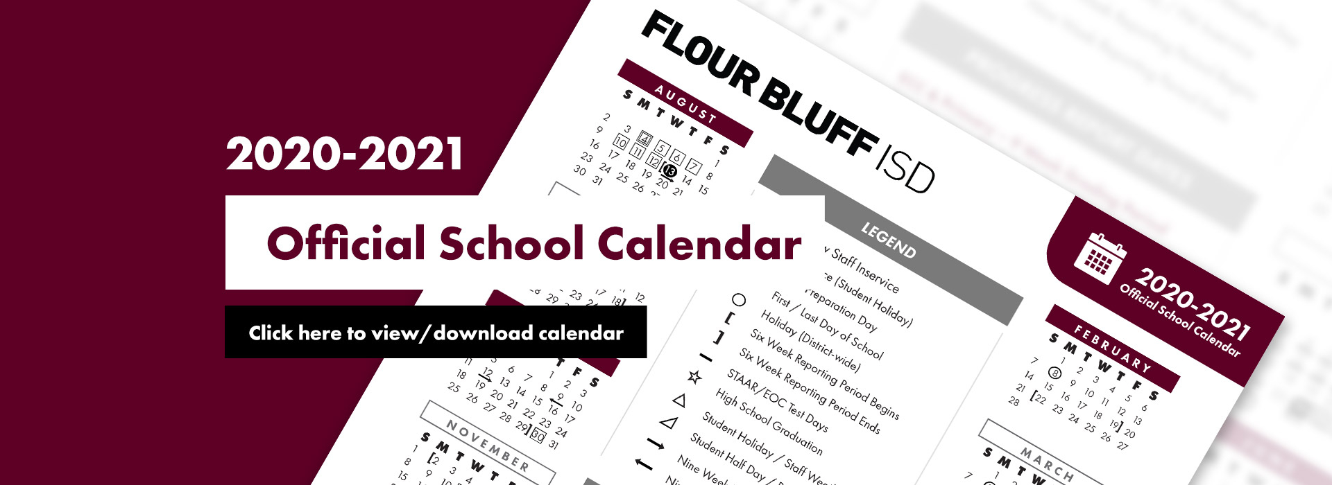 Flour Bluff High School Pertaining To Red Bluff High School Calendar 2021  2020
