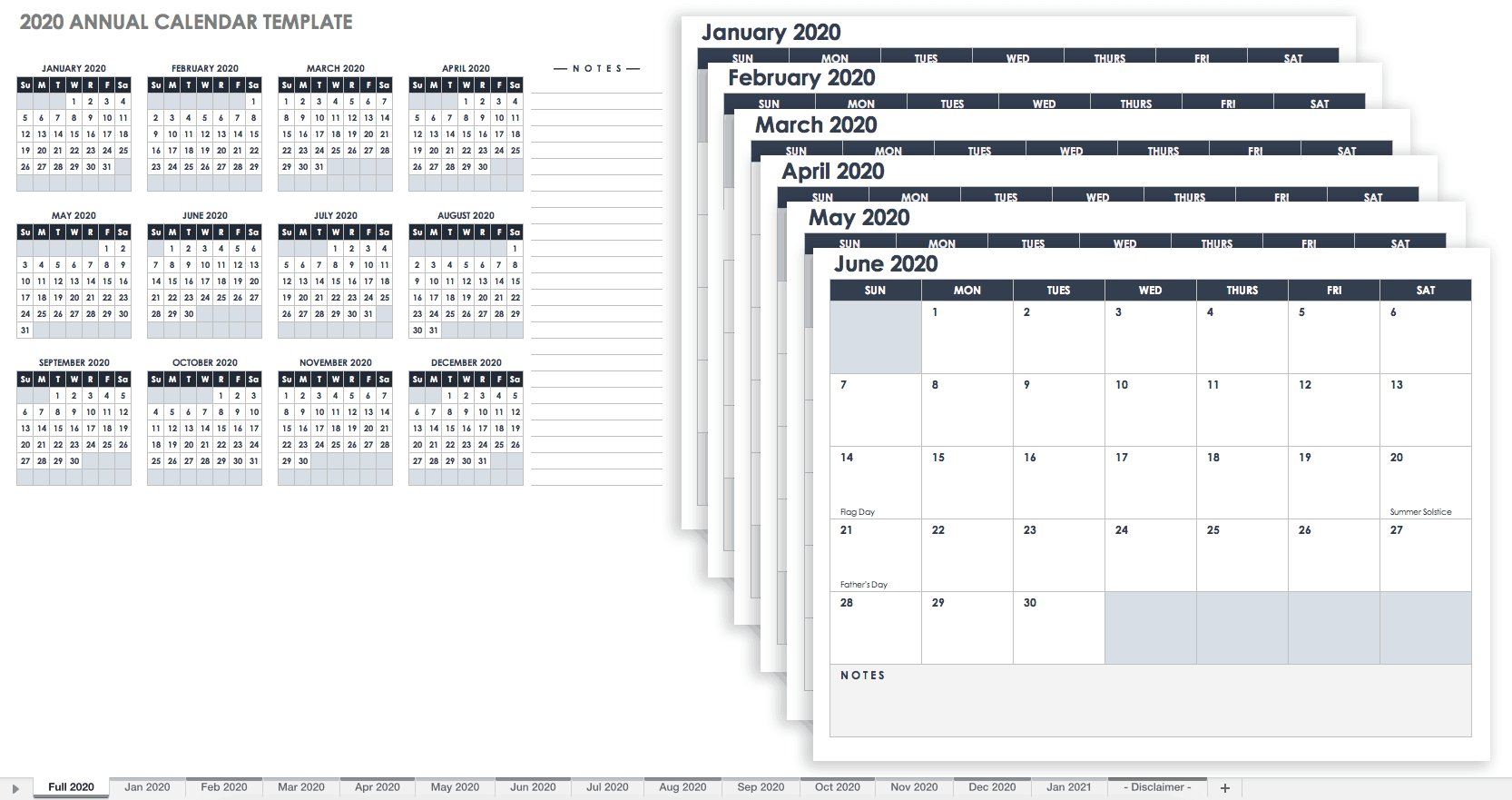 Free Blank Calendar Templates - Smartsheet With 12 Mo Calendar Template One Page No Dates