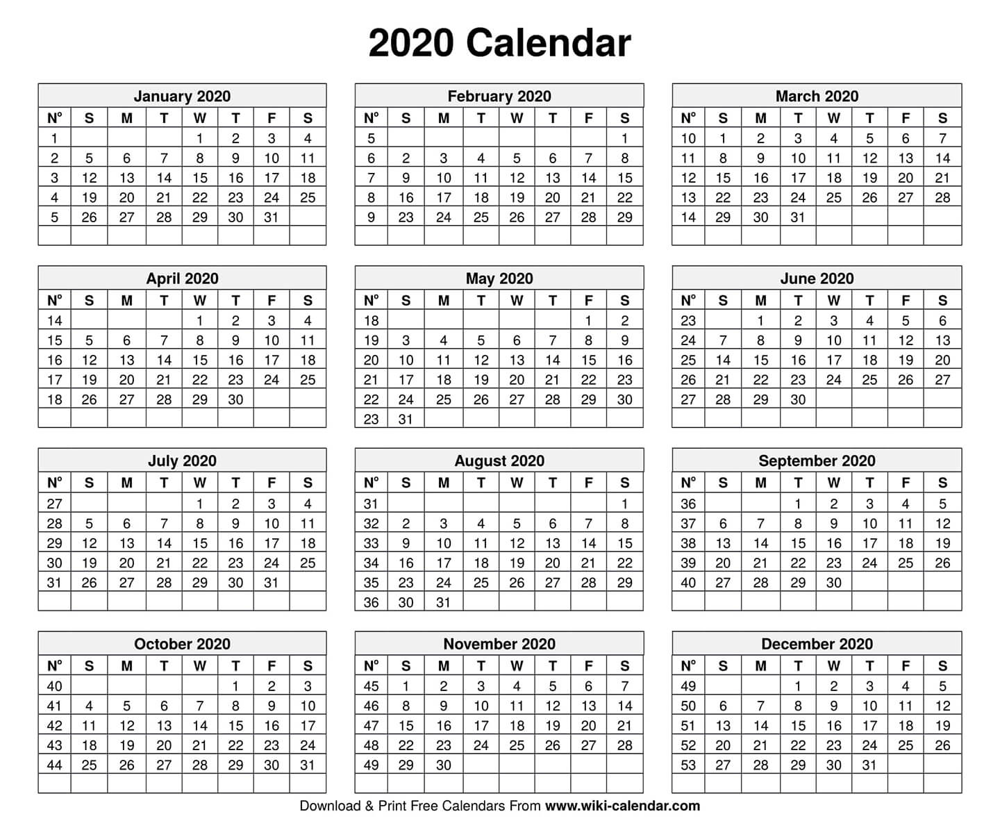 Free Printable Year 2020 Calendar Throughout Free June 2020 Activities Calendar Template Assisted Living Editable