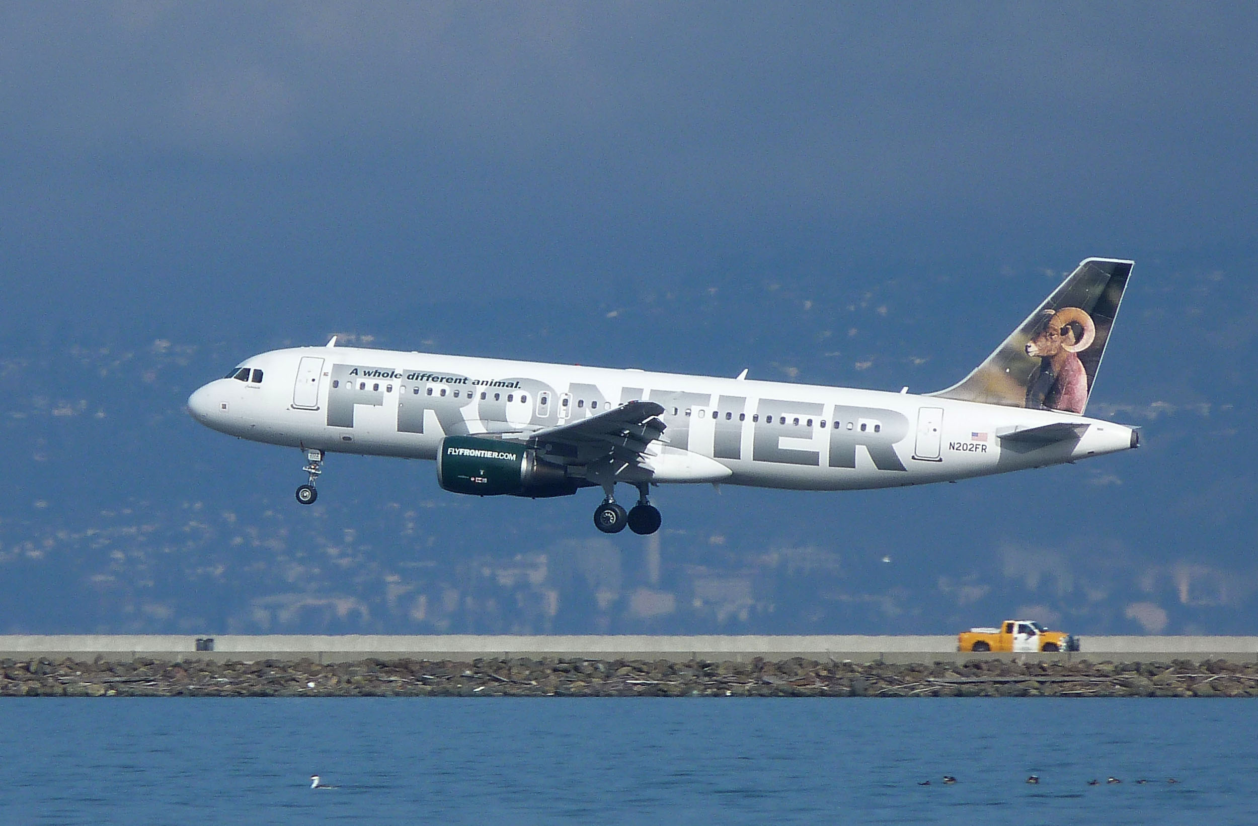 Frontier Airlines Seeks New Lease With Trenton Mercer Inside Frontier Airlines Monthly Calendar