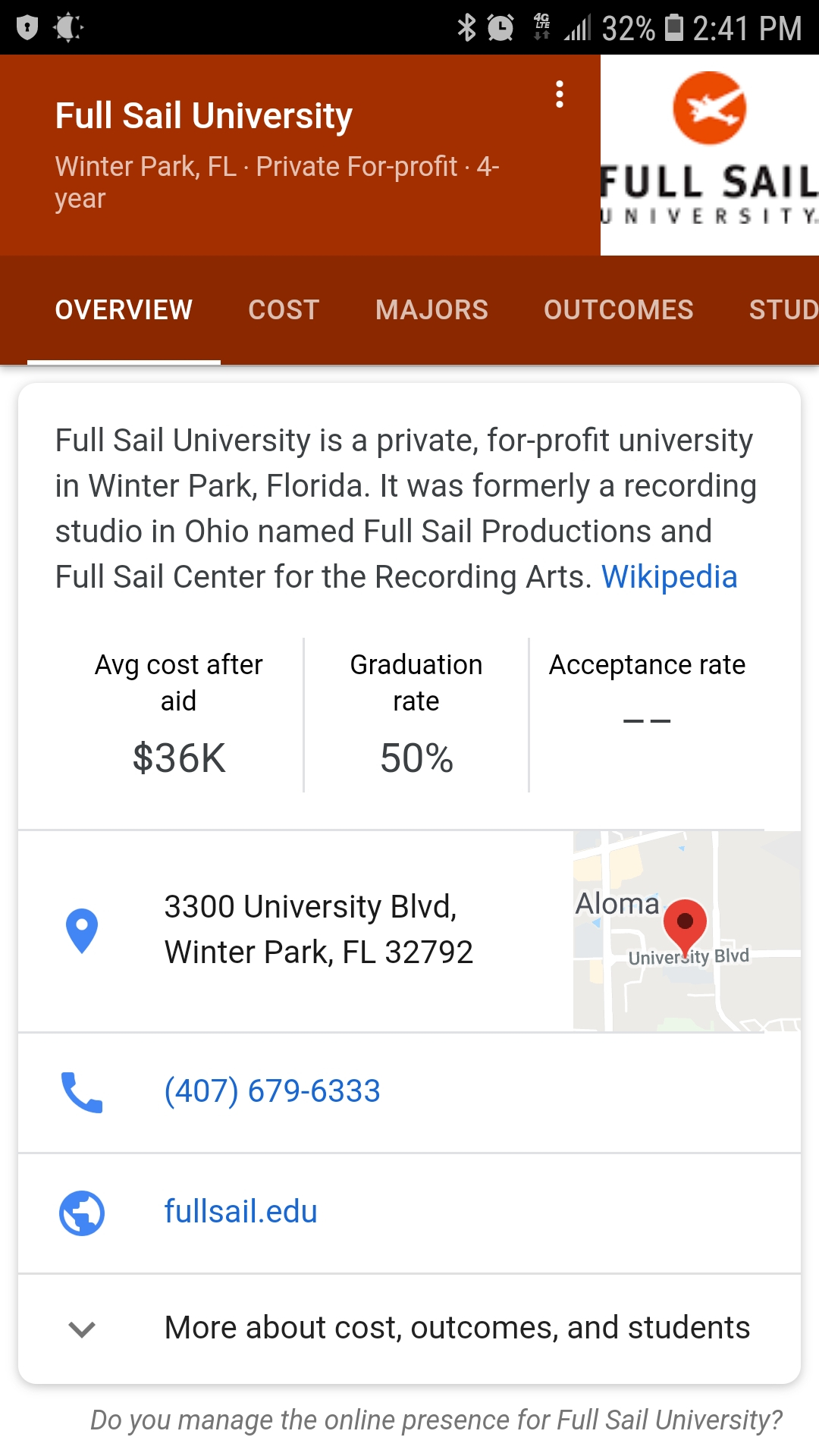 Full Sail Only Has A 50% Graduation Rate, Compared To My In Full Sail University Class Schedule