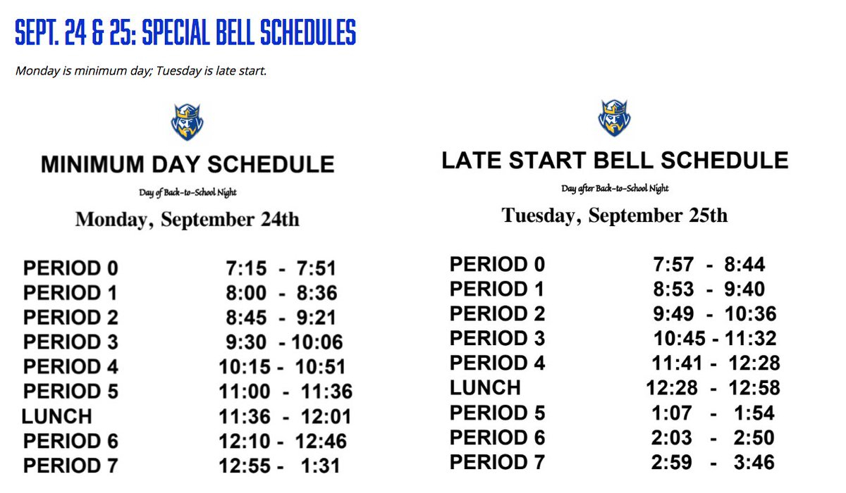 """Fvhs On Twitter: """"barons – We Have Back To School Night On Intended For Fvhs School Calendar"""