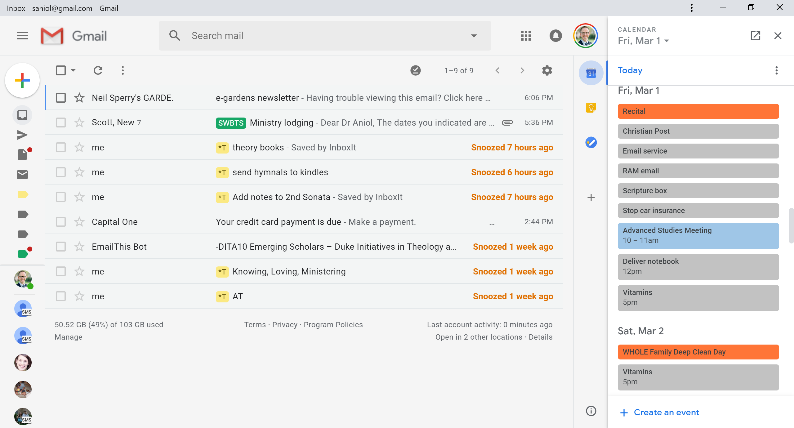 Getting Things Done: Google Calendar, Gmail + Evernote Inside Google Calender Adding Notes