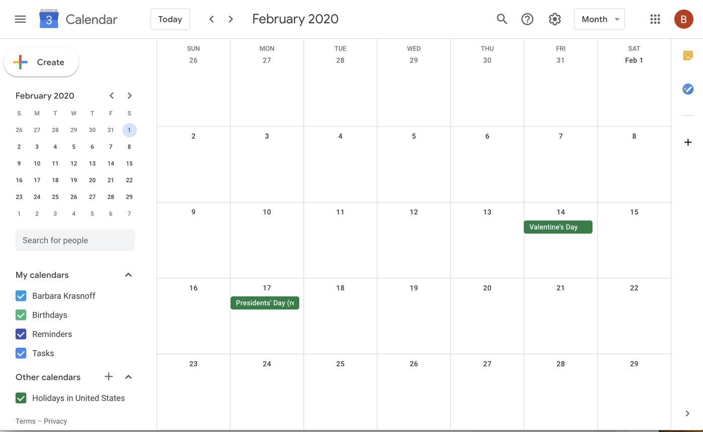 Google 101: How To Add More Calendars To Your Google Regarding Show Me My Calendar For Tomorrow