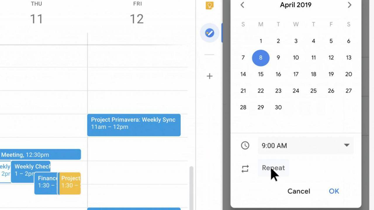 Google Tasks Becomes More Useful With Starting And Recurring within Create A Recurring Task In Google Calendar