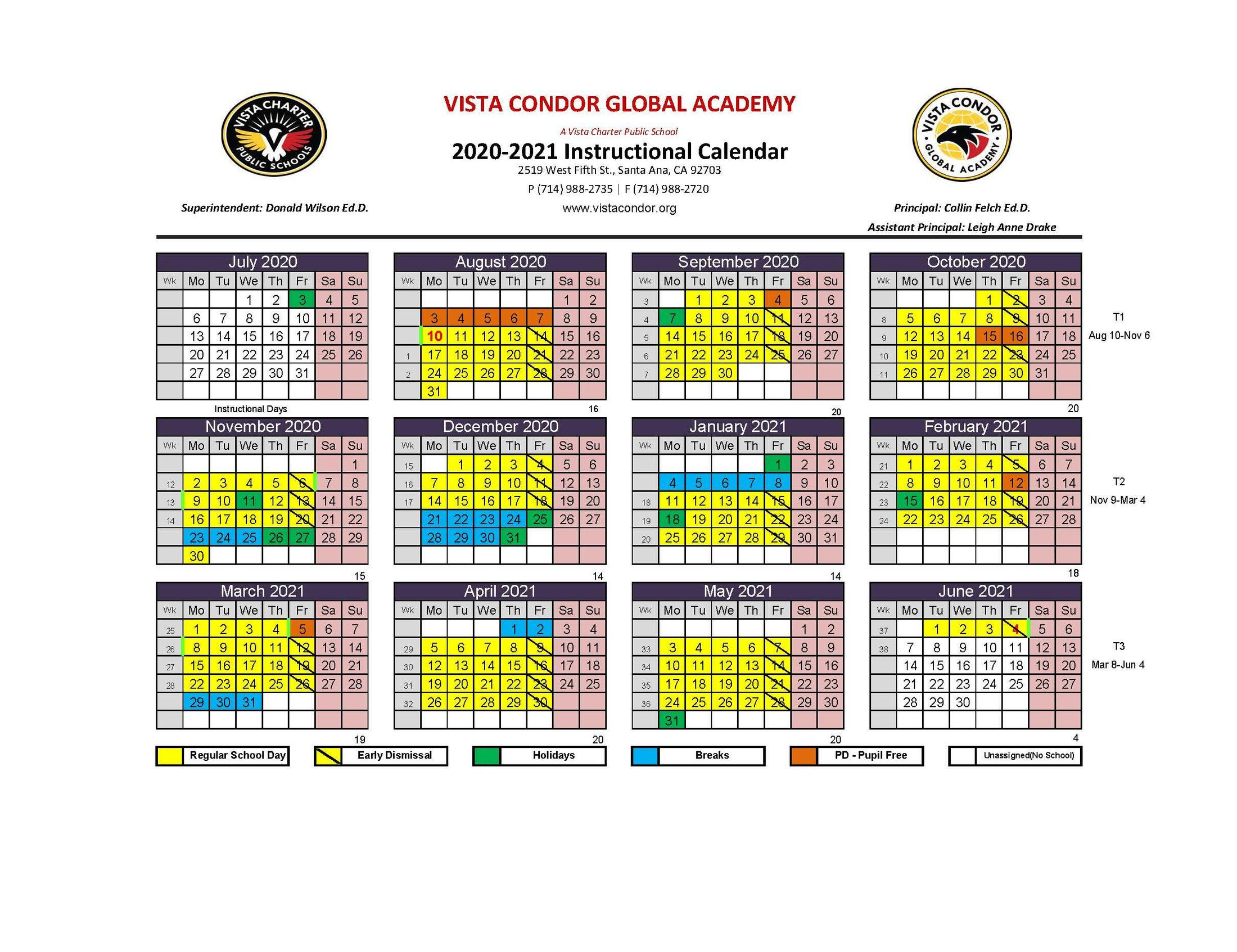 Gusd Calendar 2017 18 Inside Gilroy Unified School District Calendar 2021