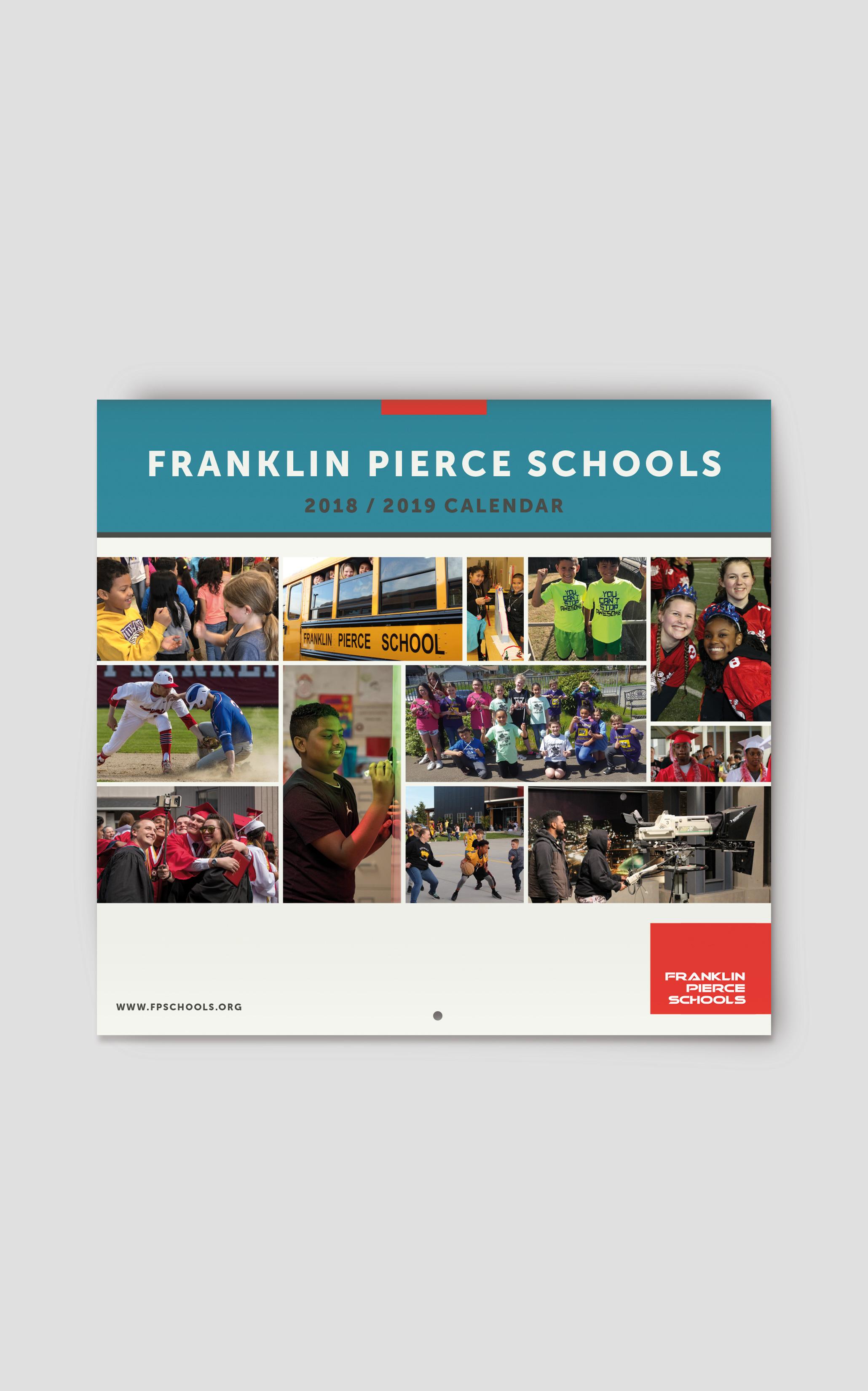 Henry Waymack Design Inside Franklin Pierce School District Calendar