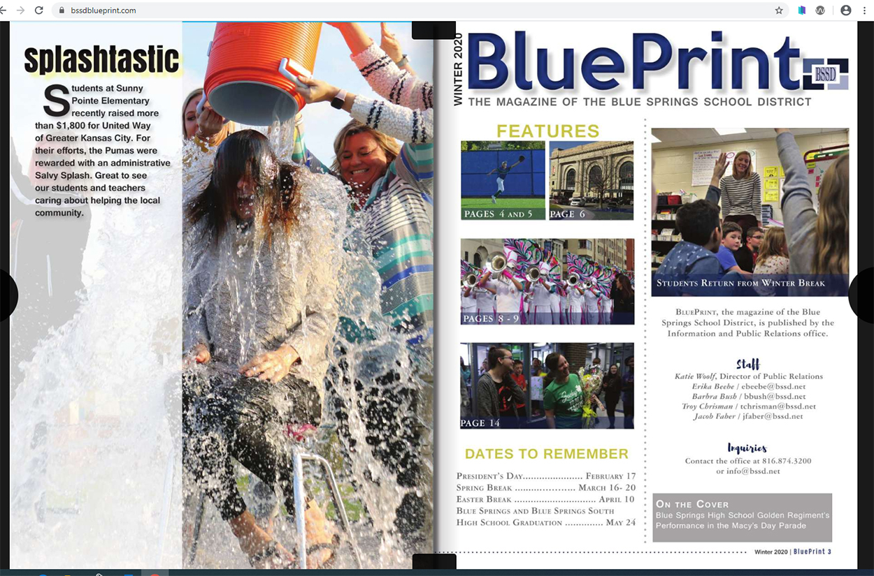 Home - Blue Springs School District Pertaining To Blue Springs School District Calendar