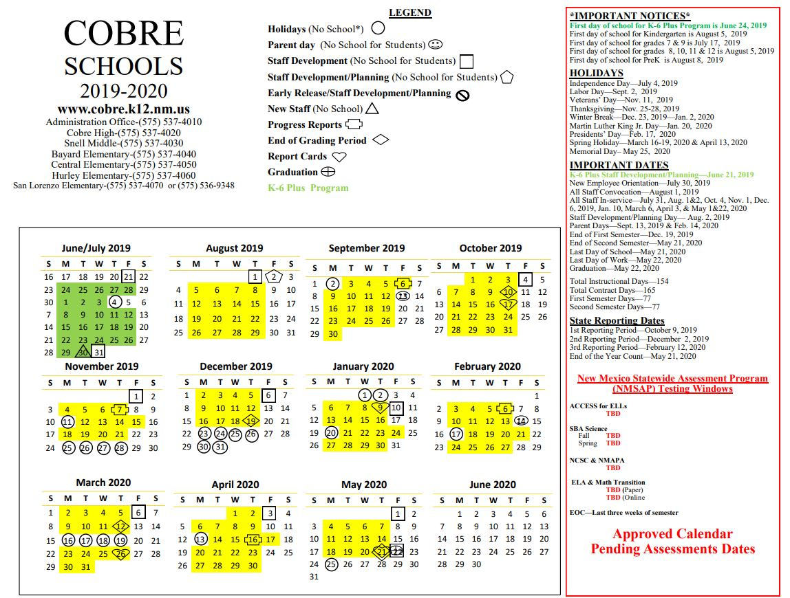 Home - San Lorenzo Elementary School Intended For Las Cruces Public Schools Calendar