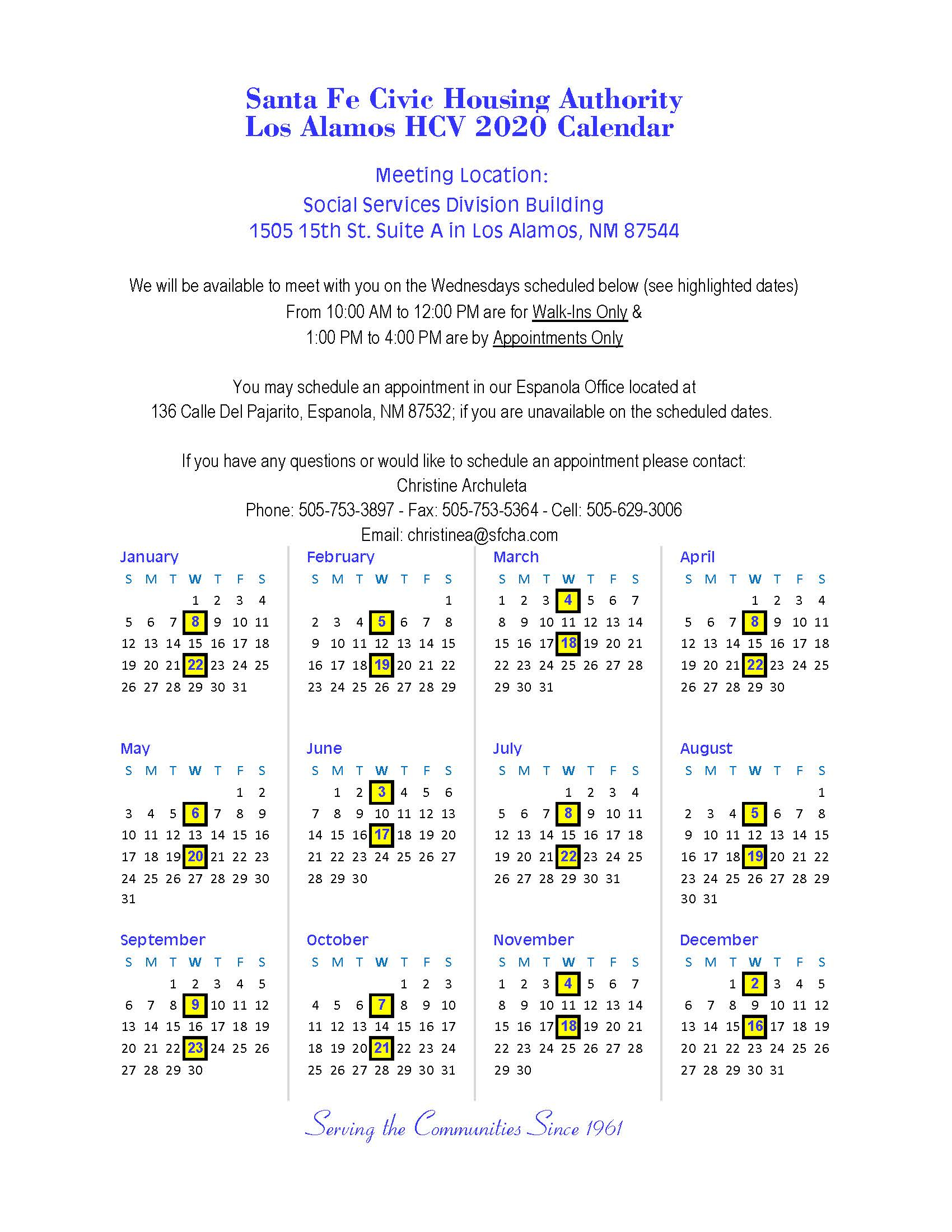 Housing – Los Alamos County For Los Alamos Public Schools Calendar