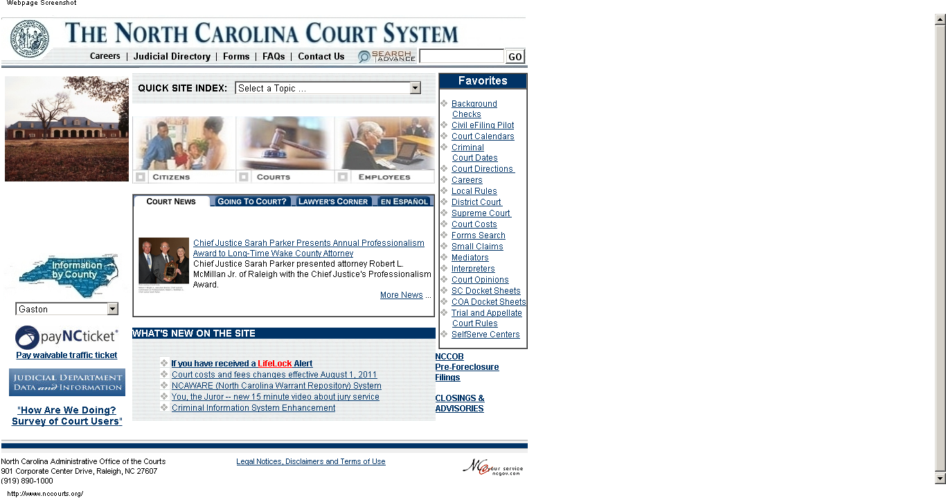 How Do I Find My Court Date If I Don't Have My Ticket With North Carolina Court Dates By Name