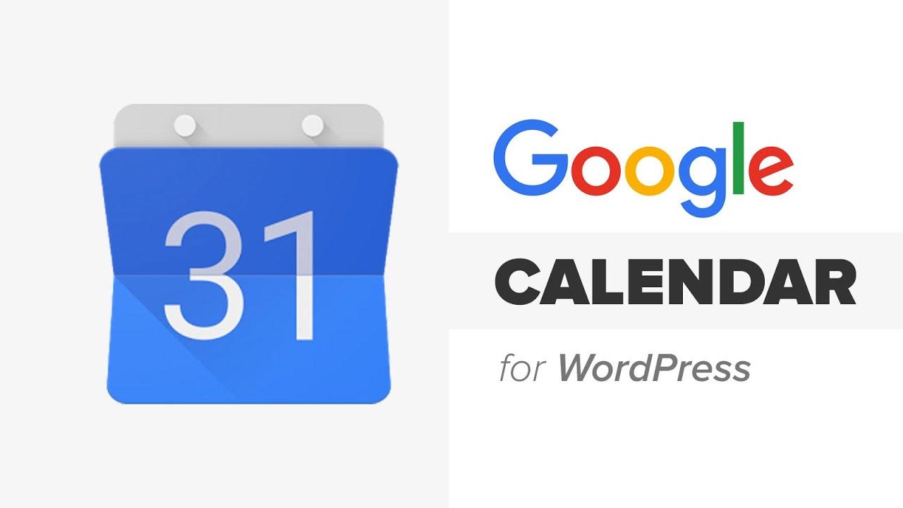 How To Add Google Calendar In Wordpress regarding Add To Google Calendar Button