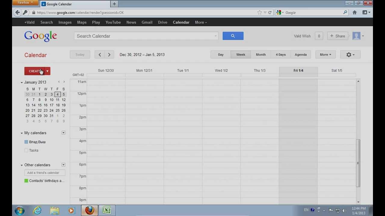 How To Export Excel To Google Calendar For Convert Excel Spreadsheet To Calendar