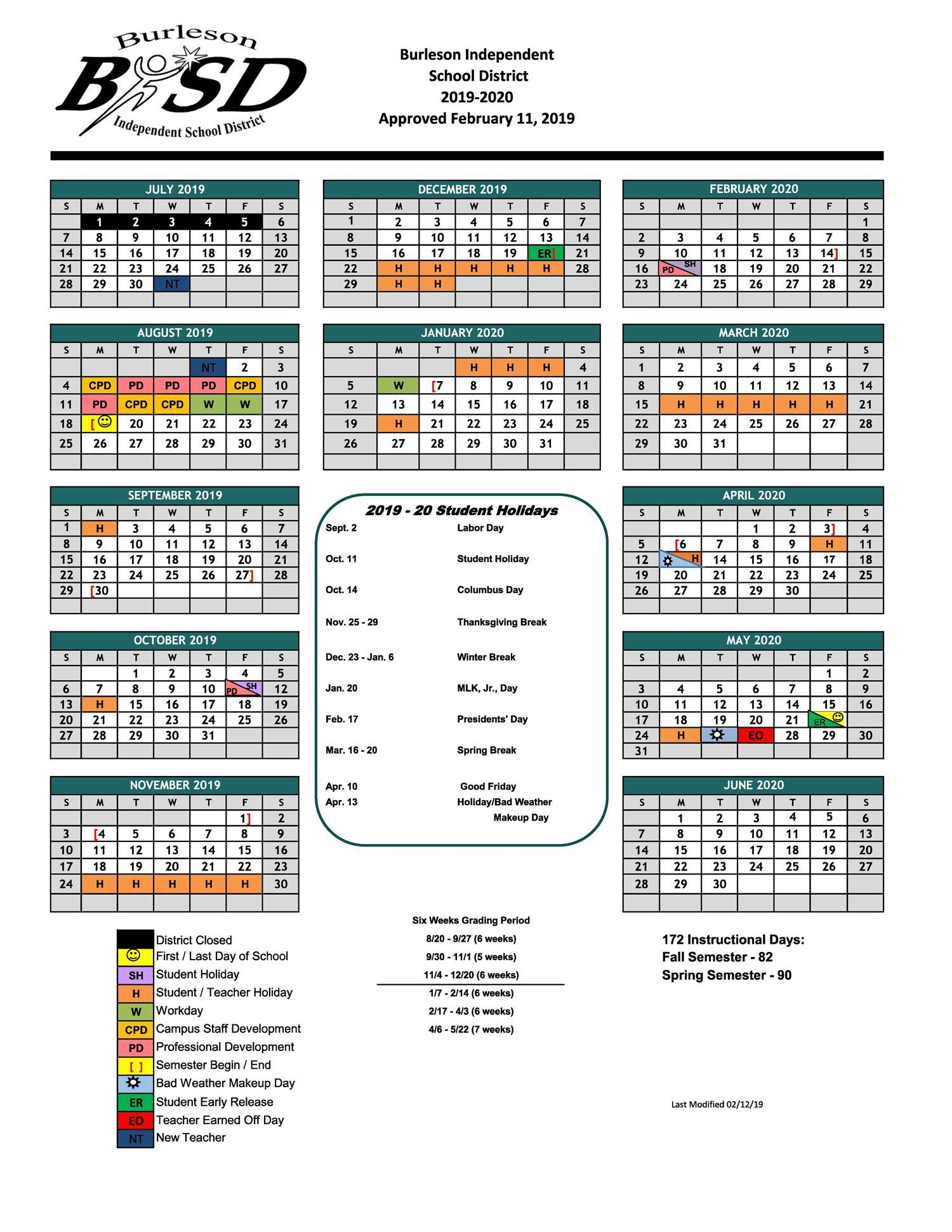 Hughes Middle School / Homepage With Brownsville Isd Calendar 2021