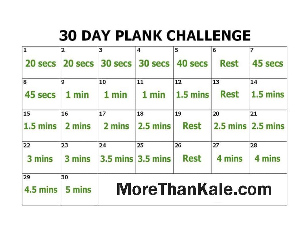 Innovative 30 Day Plank Challenge Printable Pdf Calendar With 30 Day Push Up Challenge Printable Pdf