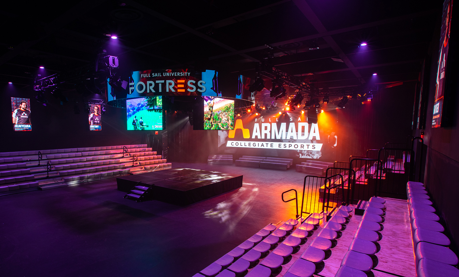 Inside Full Sail University's 'the Fortress' — The Largest For Full Sail University Calander