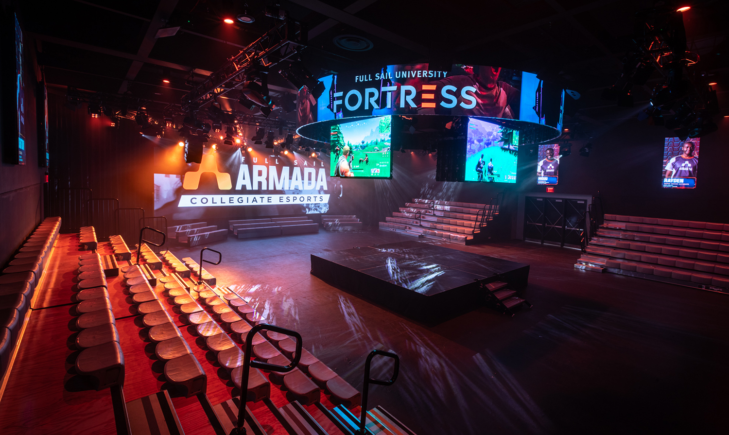 Inside Full Sail University's 'the Fortress' — The Largest For Full Sail University Calendar