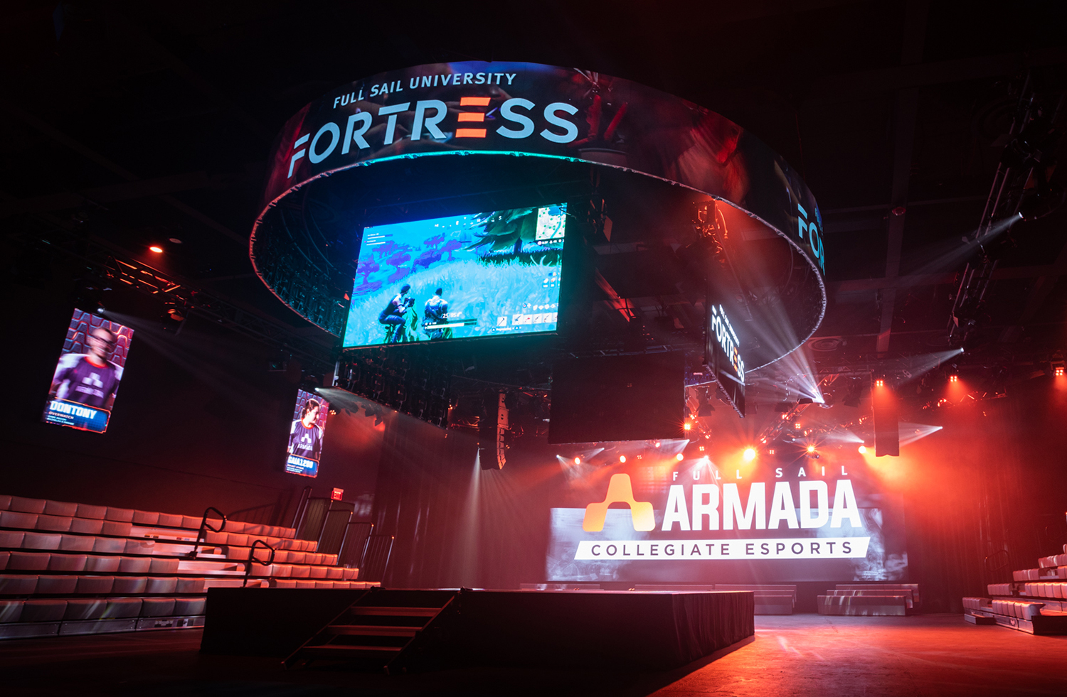 Inside Full Sail University's 'the Fortress' — The Largest In Full Sail University Calendar