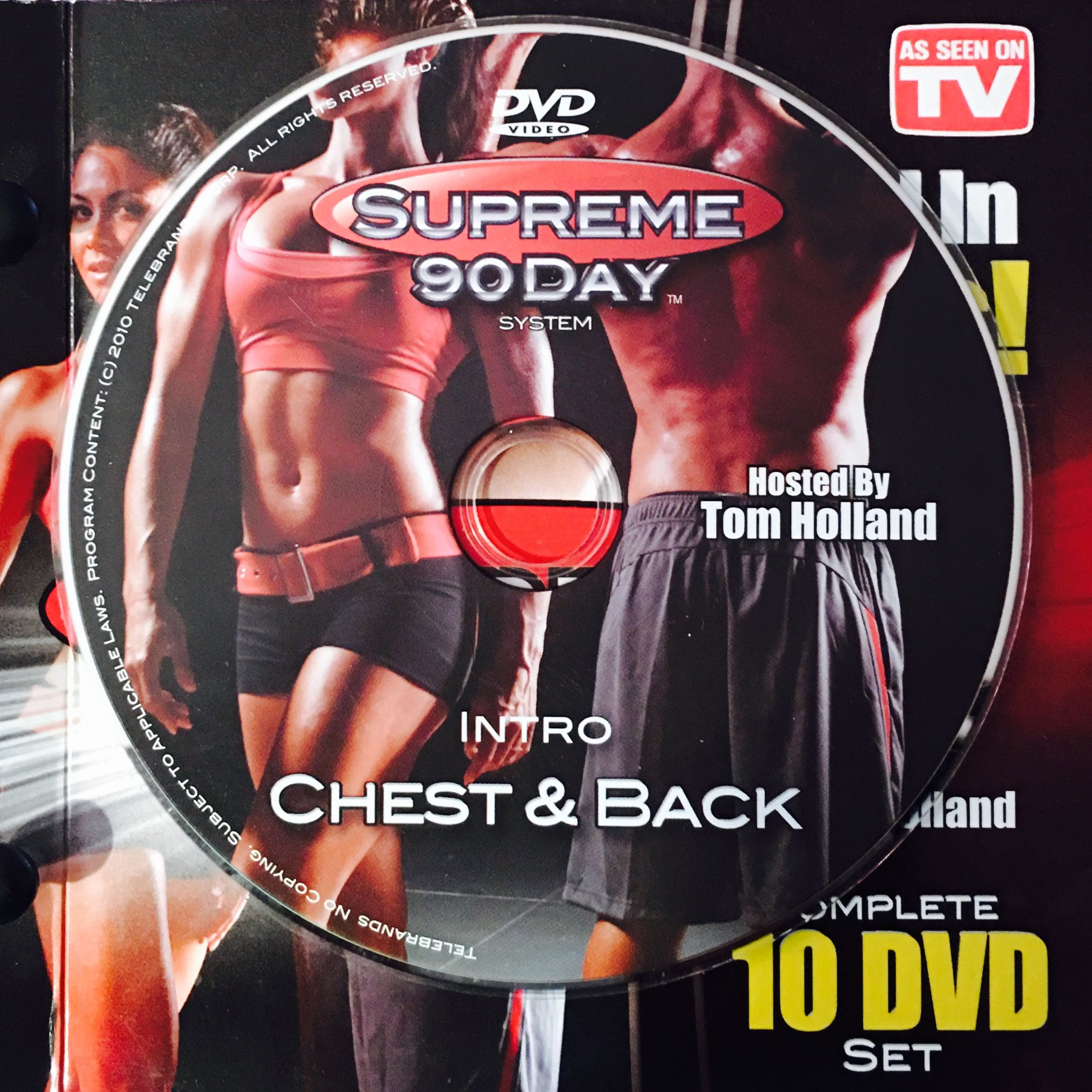 """Intro – Chest & Back. **supreme 90Day System, """"get Ripped In Inside 90 Day Supreme Workout Schedule"""