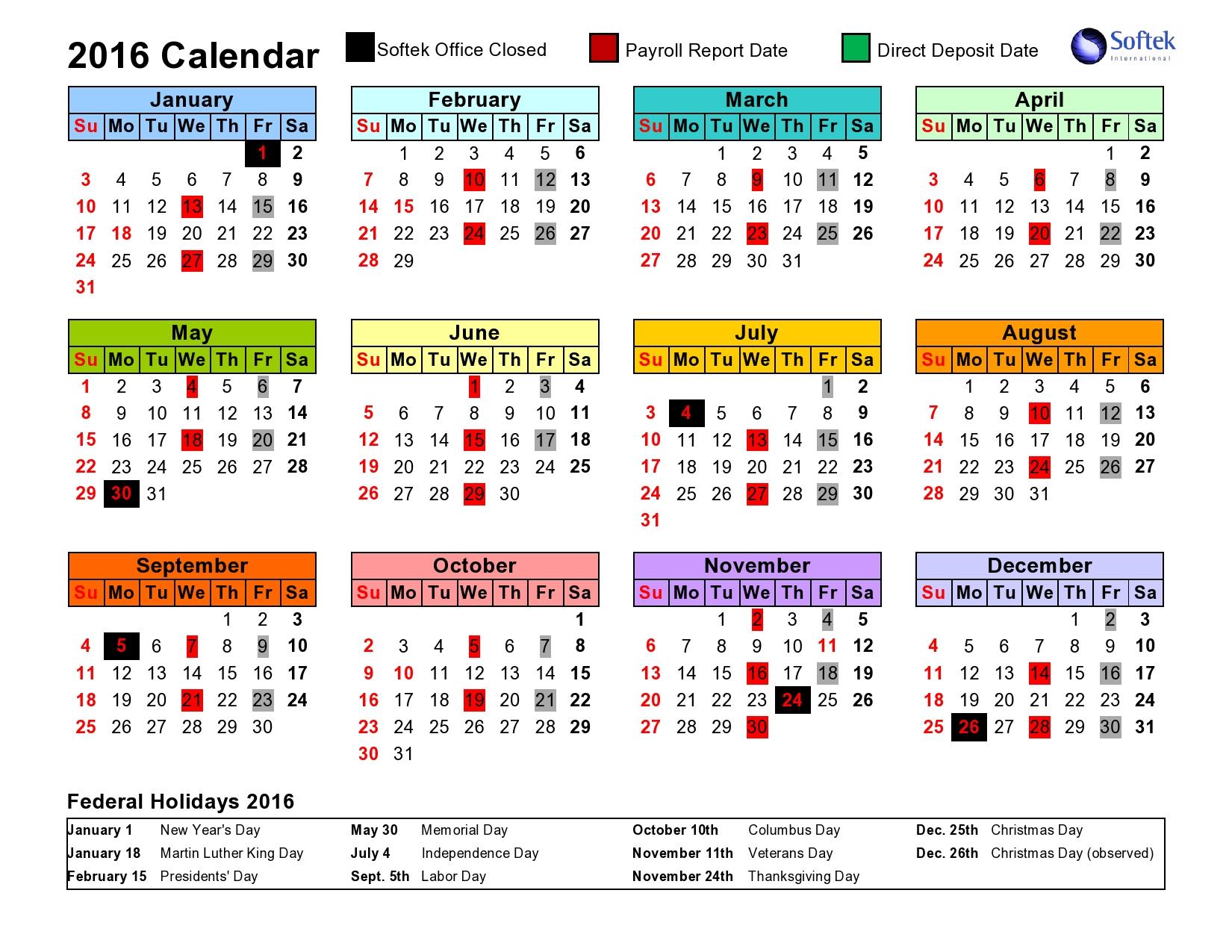 Intuit Payroll Holiday Calendar 2020 | Payroll Calendar 2020 Within Federal Payroll Calendar 2020