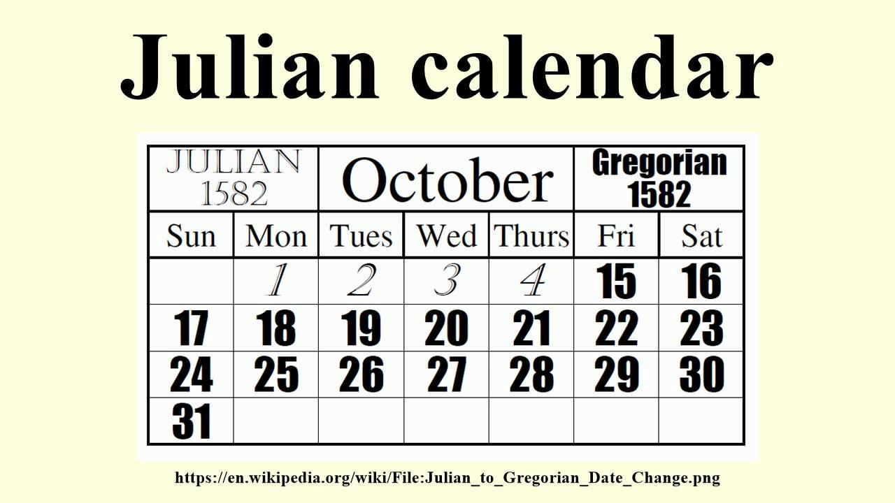 Julian Calendar Regarding Convert Julian Date 2 025 To Calendar Date
