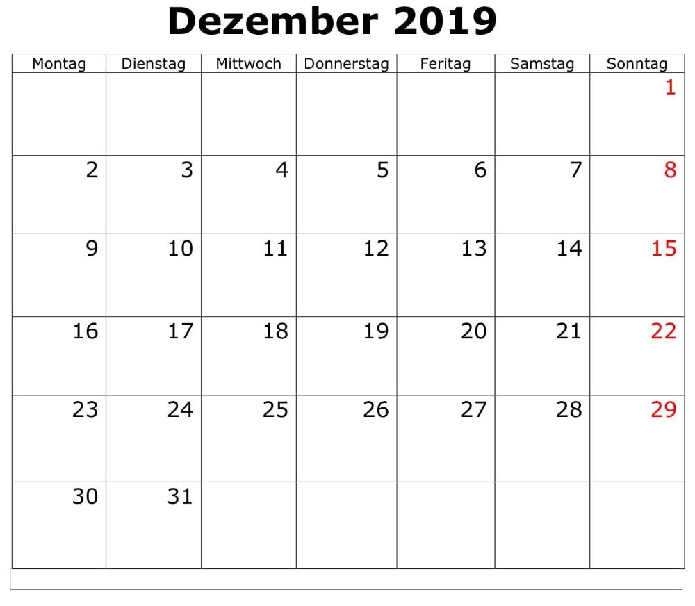 Kalender Dezember 2019 Monatlich Zum Ausdrucken (With Images Throughout Printable 30 Day Squat Challenge January 2021