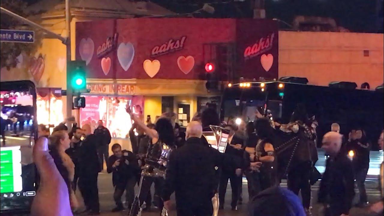 Kiss Отыграли Шоу В Легендарном Клубе Whisky A Go Go (Видео) Regarding Whiskey A Go Go Schedule