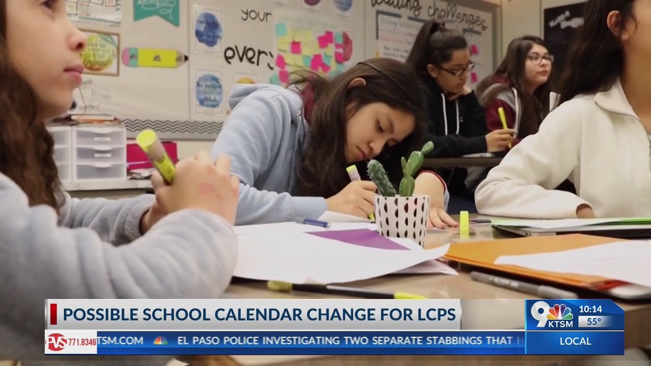 Las Cruces Public Schools Proposing To Extend The Academic School Year Throughout Las Cruces Public Schools Calendar
